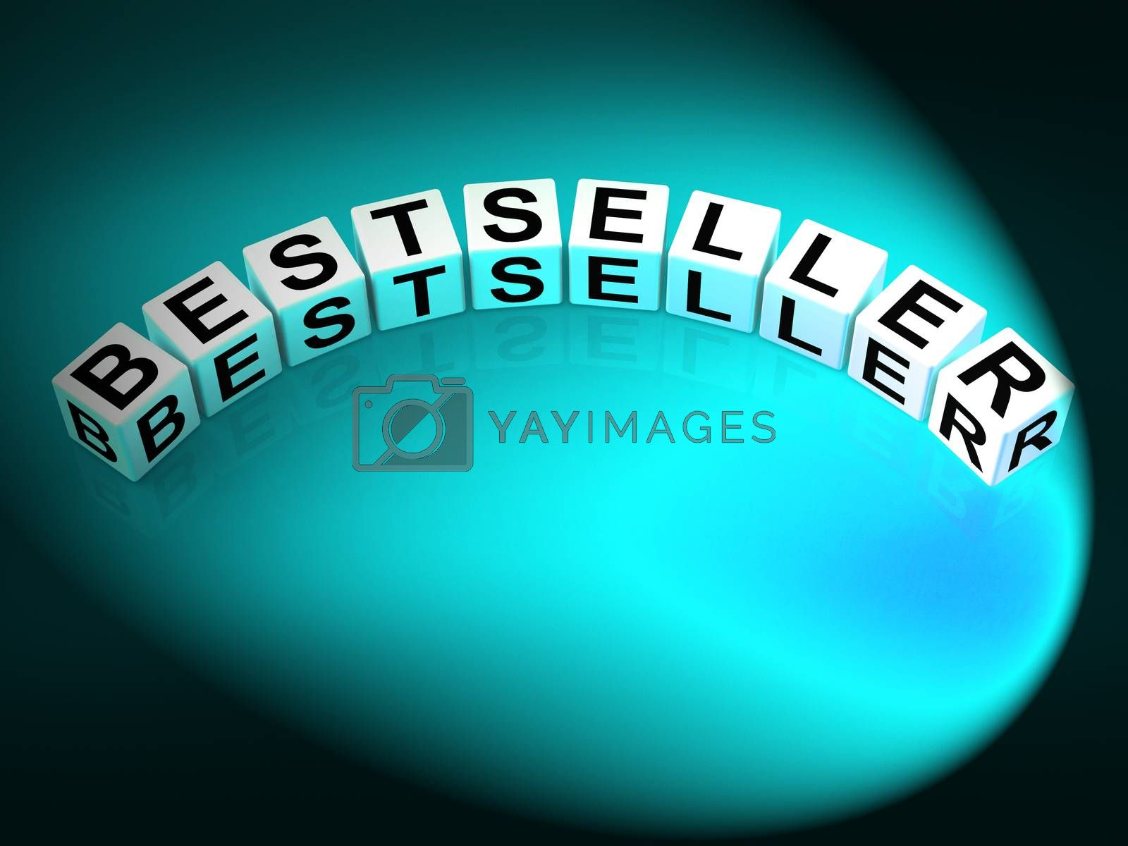 Bestseller Letters Show Most Popular And Hot Item by stuartmiles