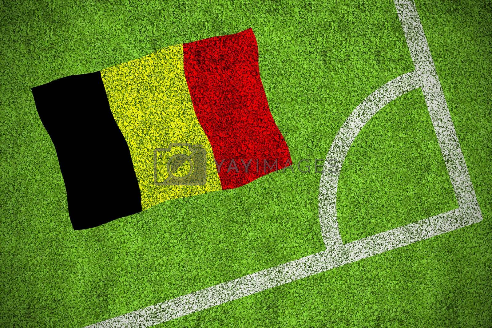 Belgium national flag by Wavebreakmedia