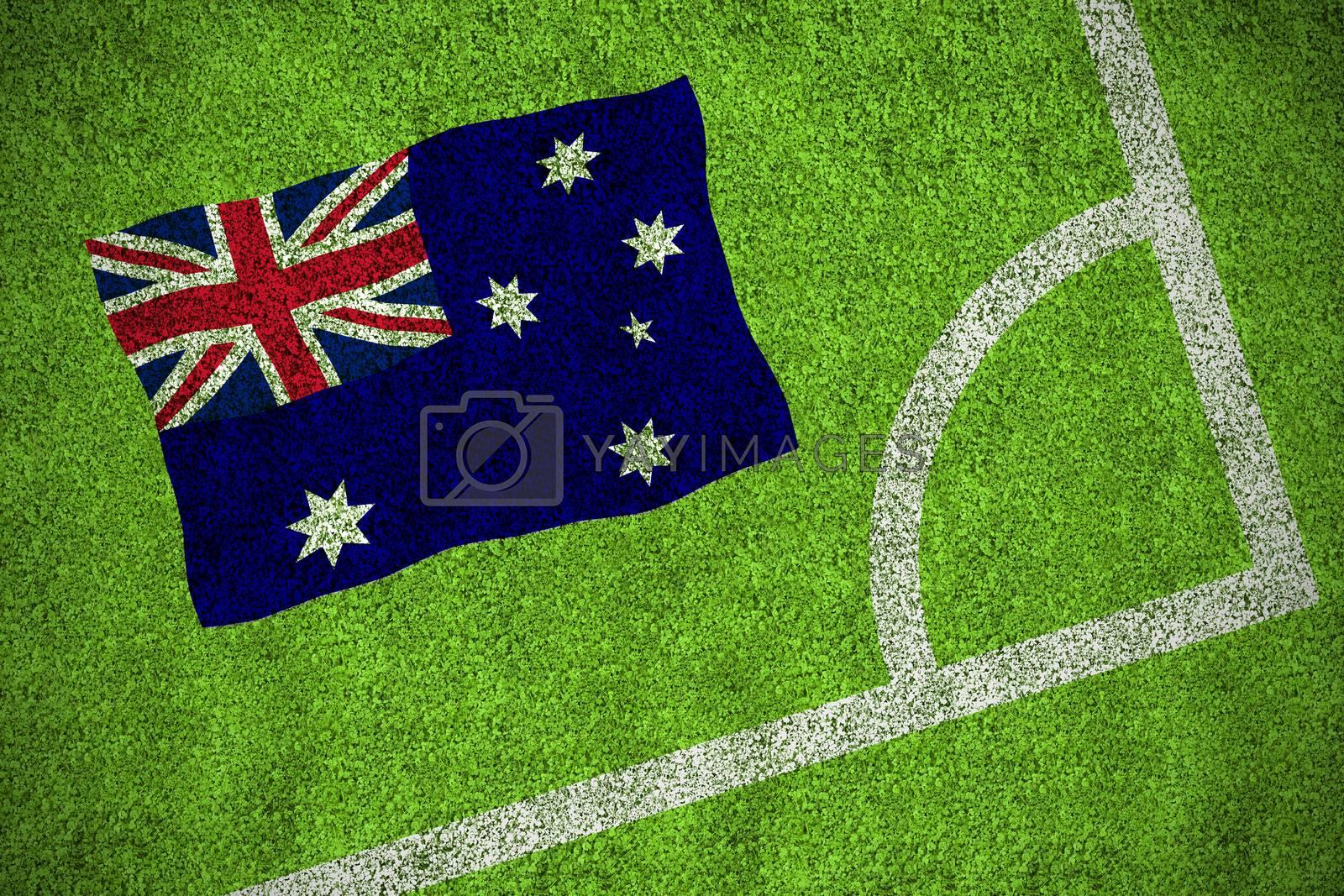 Australia national flag by Wavebreakmedia