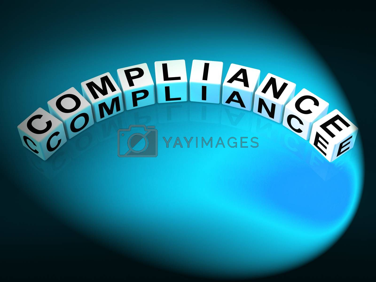 Compliance Letters Mean Agreeing To Rules And Policy by stuartmiles