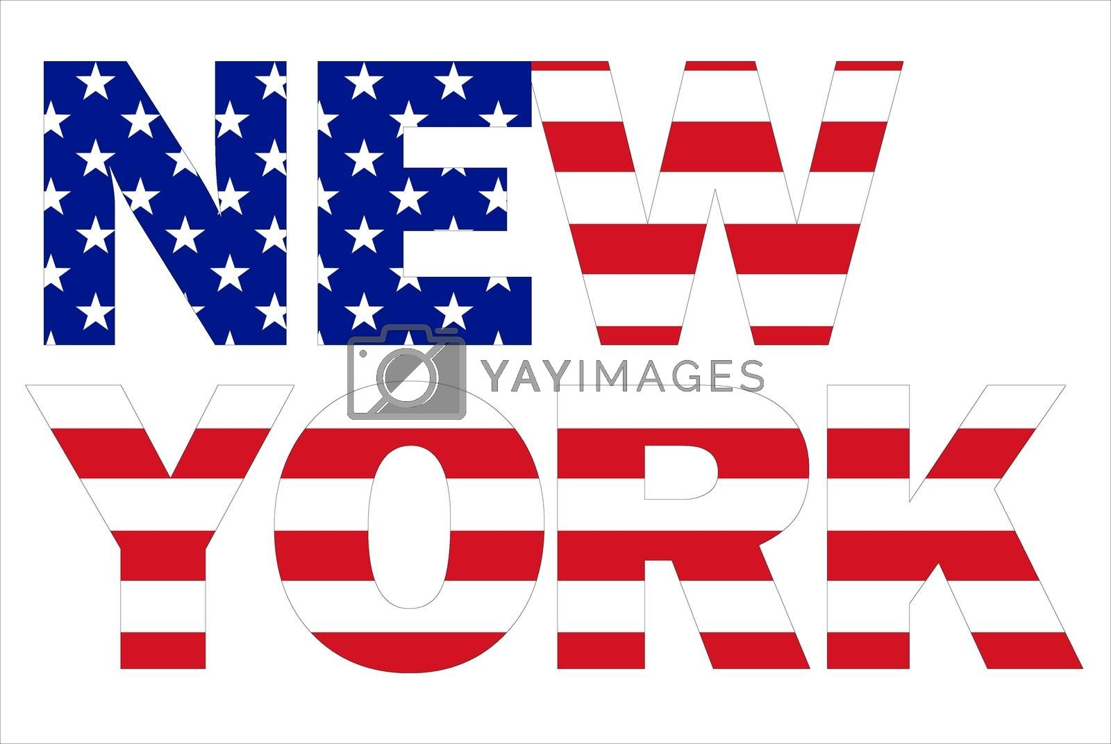 New York text by alessandro0770