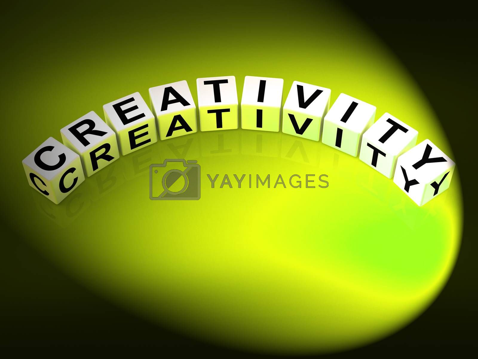 Creativity Letters Mean Inventiveness Inspiration And Ideas by stuartmiles