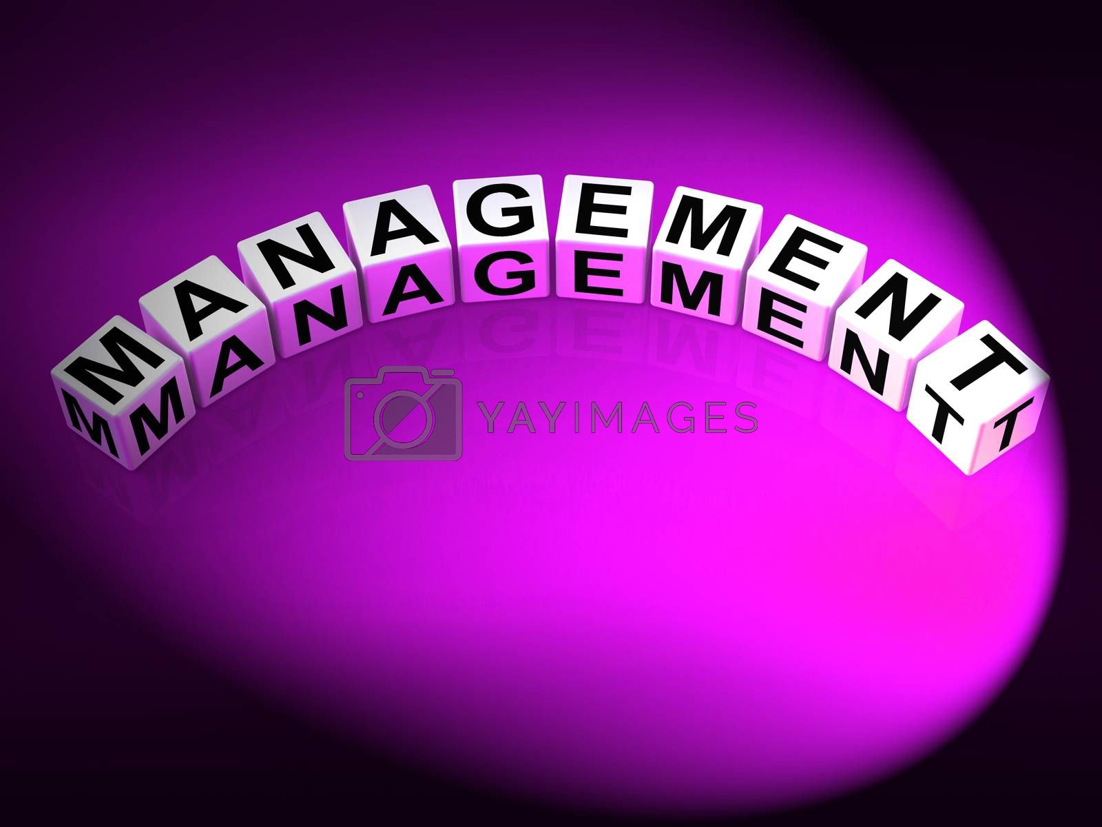 Management Letters Mean Running Of Business And Executives by stuartmiles