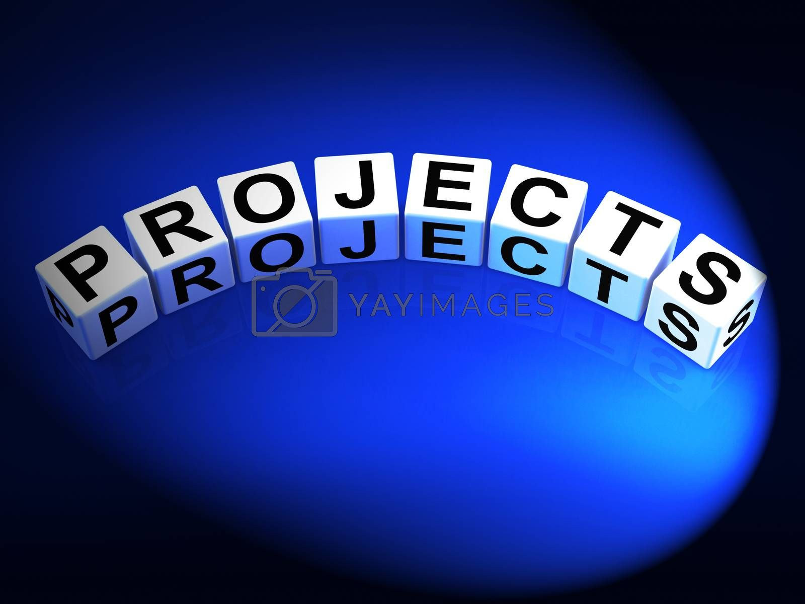 Projects Dice Represent Ideas activities Tasks and Enterprises by stuartmiles