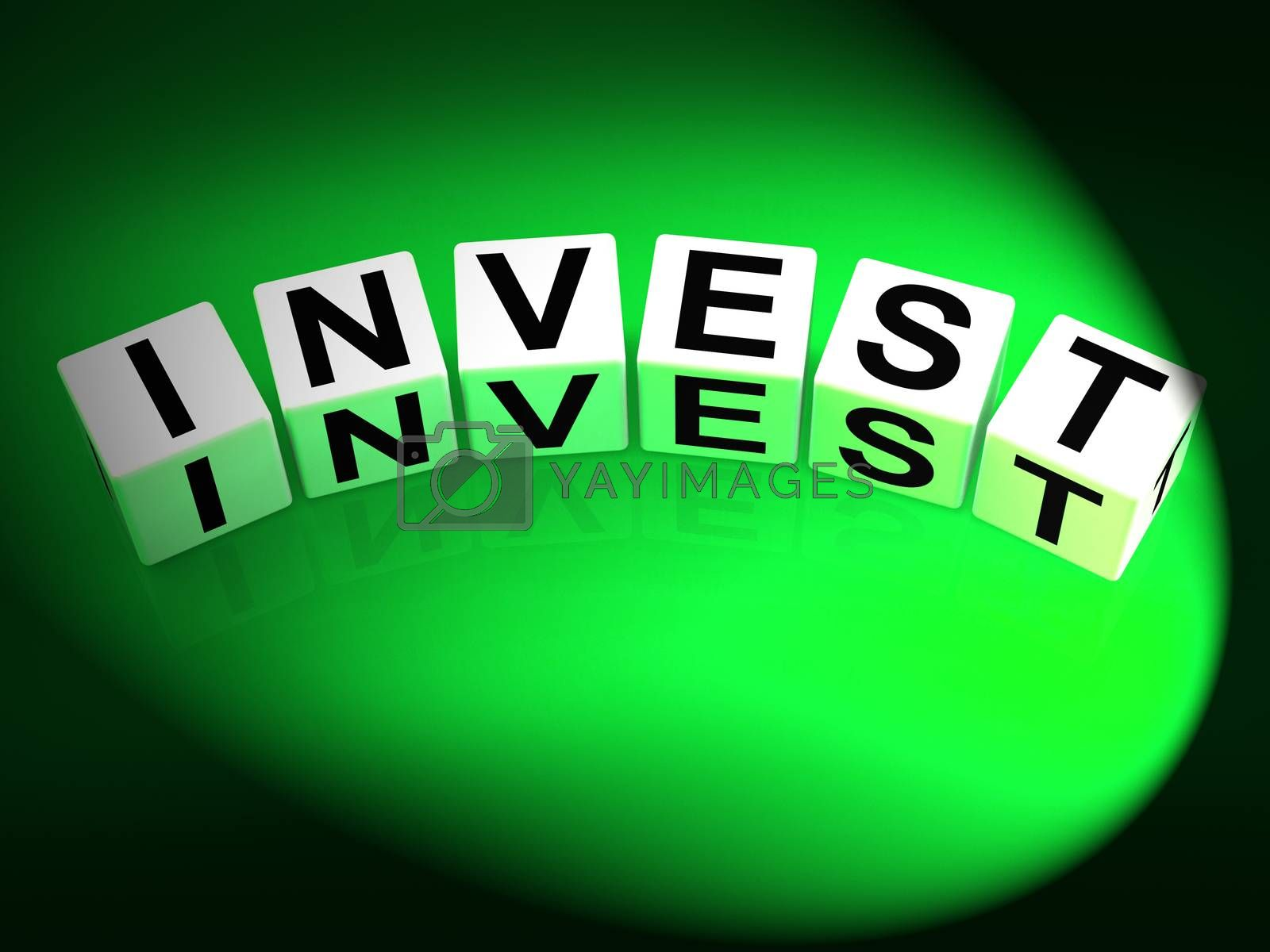 Invest Dice Refer to Investing Loaning or Endowing by stuartmiles
