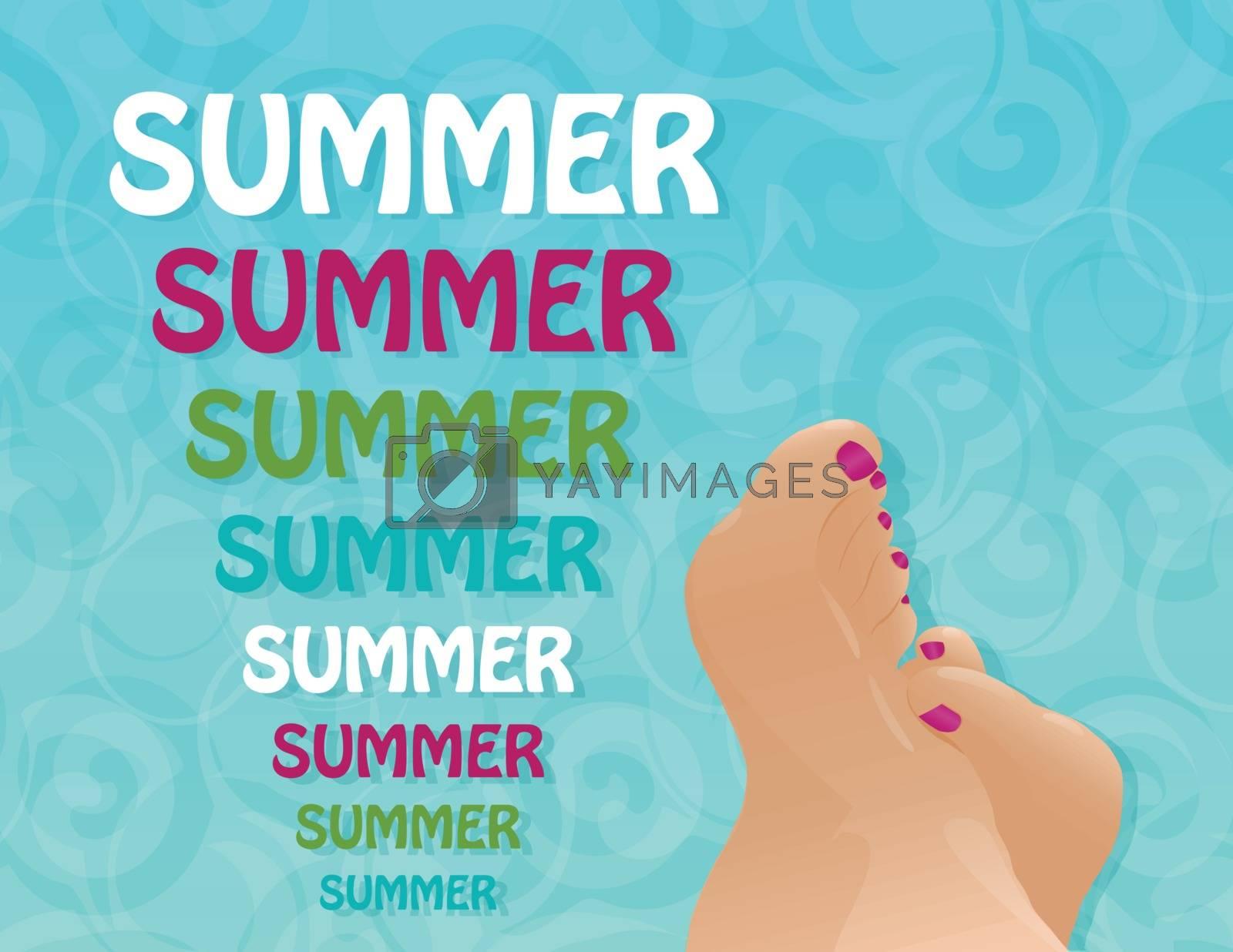 summer background by Irinavk