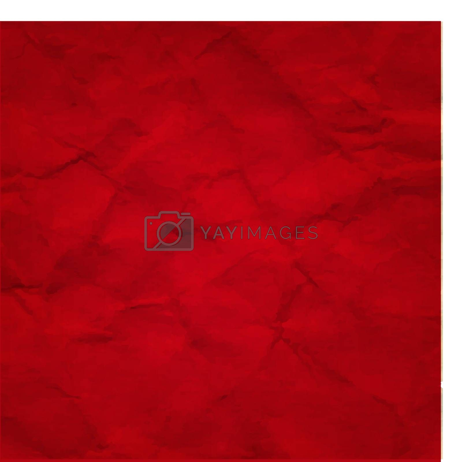 Red Crushed  Paper by barbaliss
