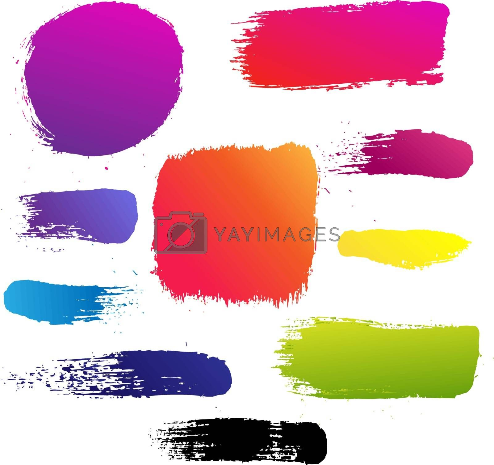 Color Blots Set by barbaliss