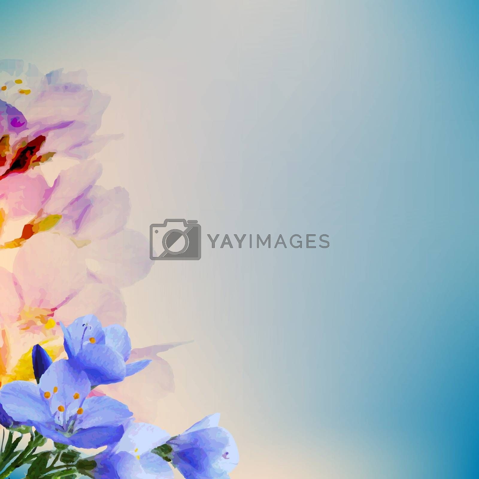 Abstract Flowers by barbaliss