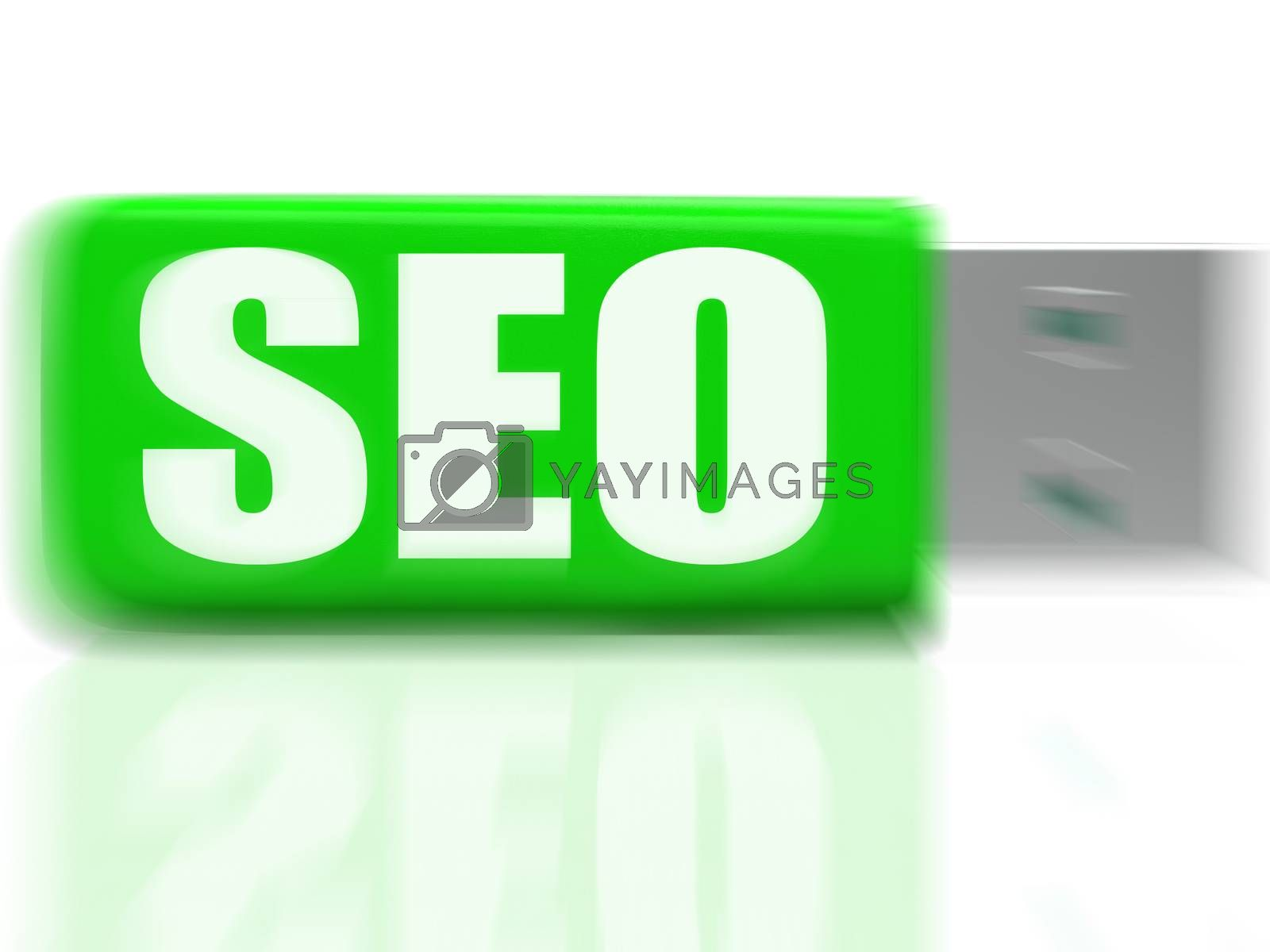 SEO USB drive Means Online Search And Development by stuartmiles