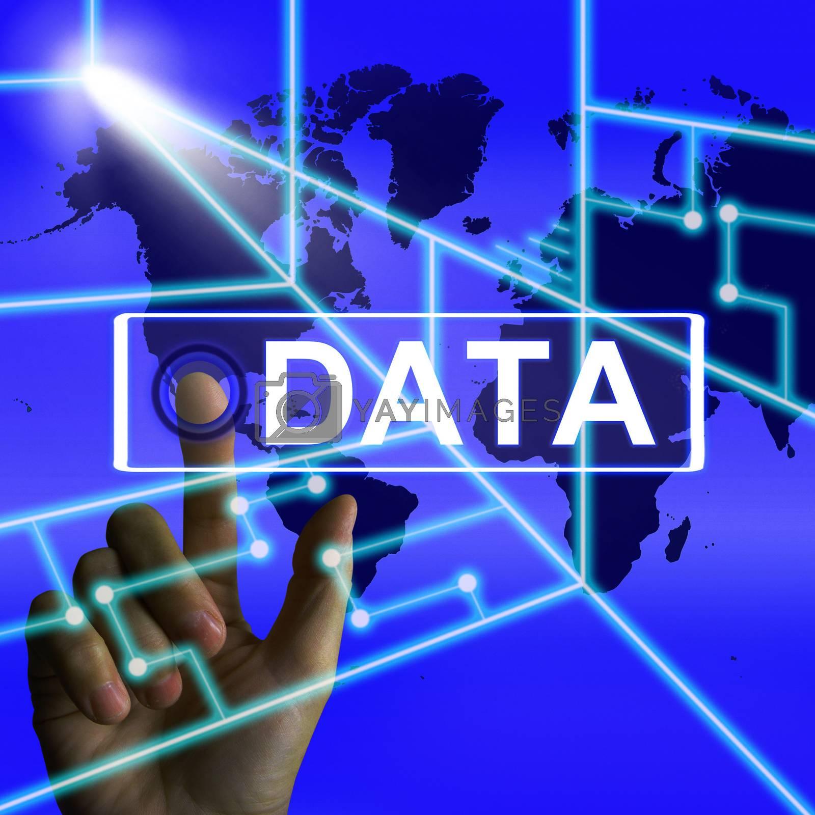 Data Screen Infers an International or Worldwide Database by stuartmiles