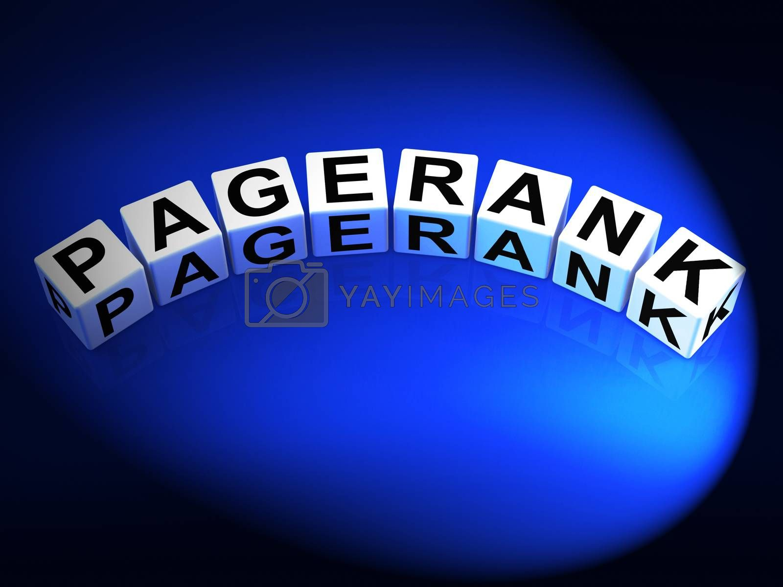 Pagerank Dice Refer to Page Ranking Optimization by stuartmiles