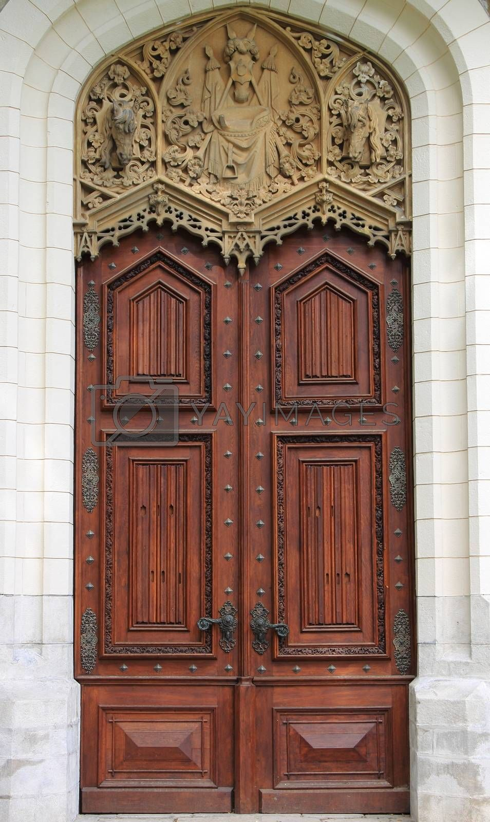 Renaissance front door by alessandro0770
