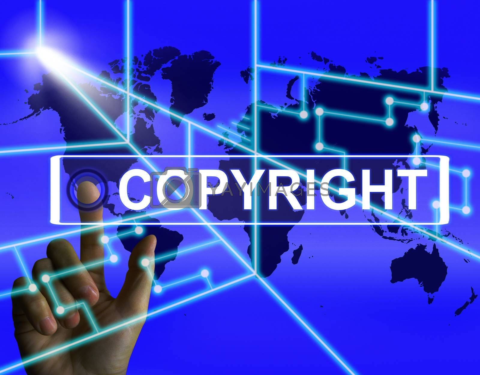 Copyright Screen Means International Patented Intellectual Prope by stuartmiles