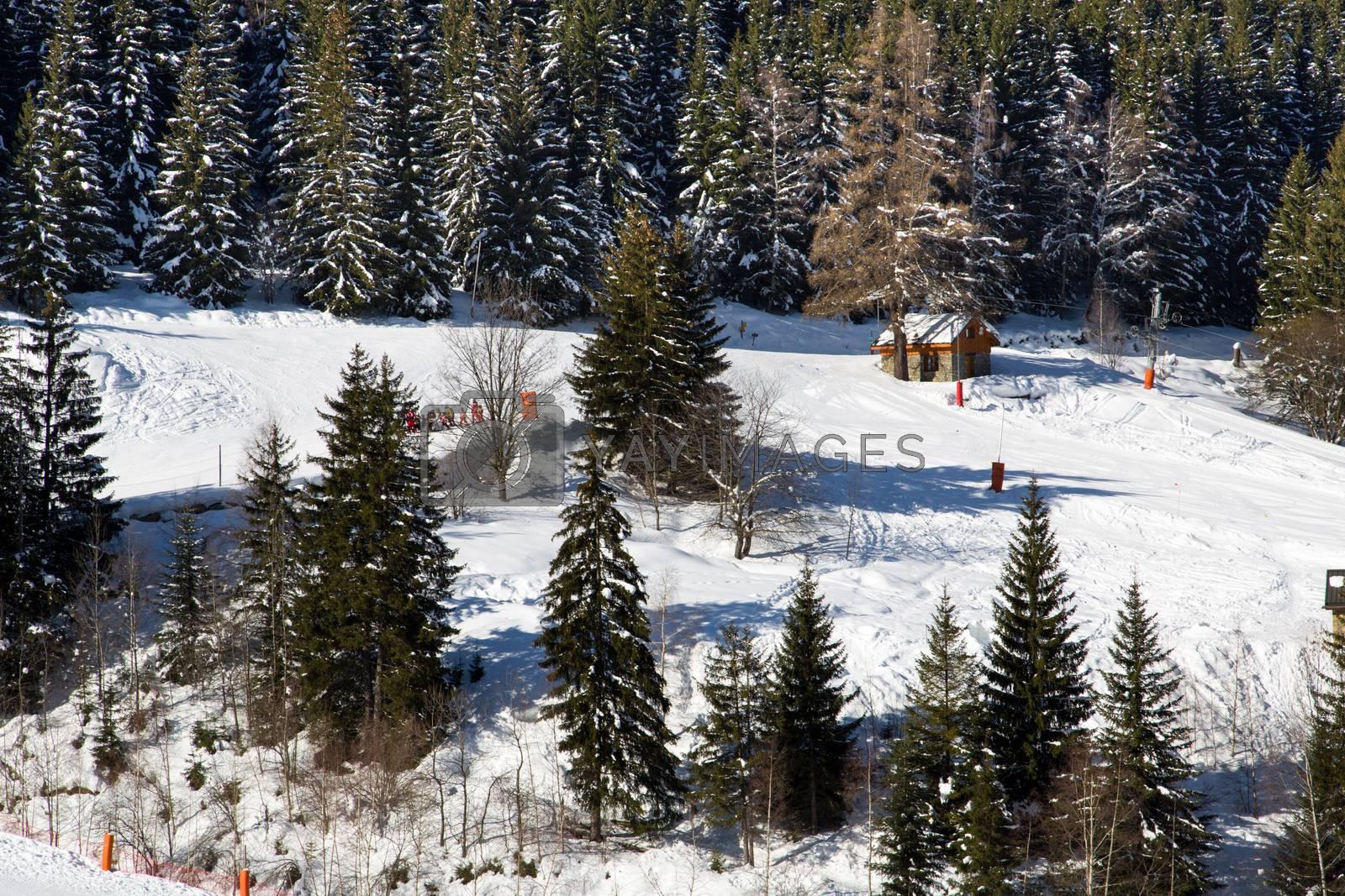 Alps in winter - 13 by Kartouchken