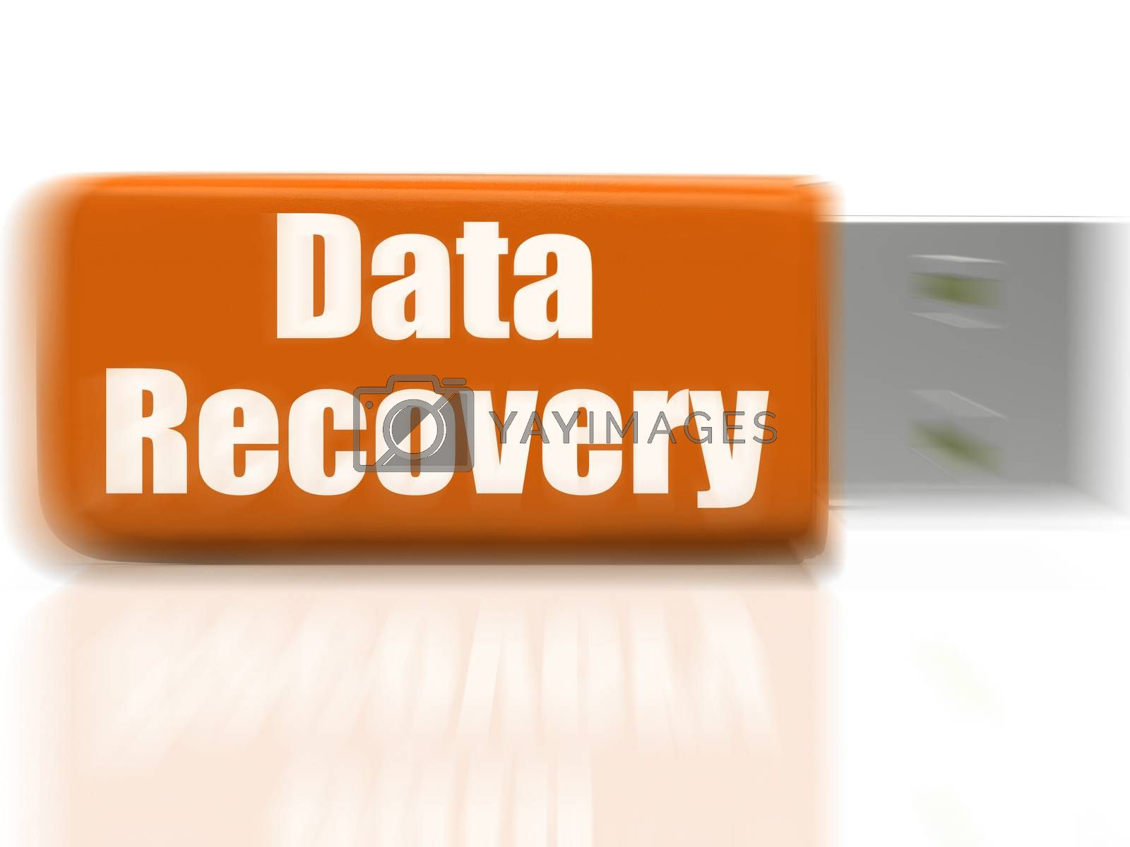 Data Recovery USB drive Means Safe Files Transfer Or Data Recove by stuartmiles