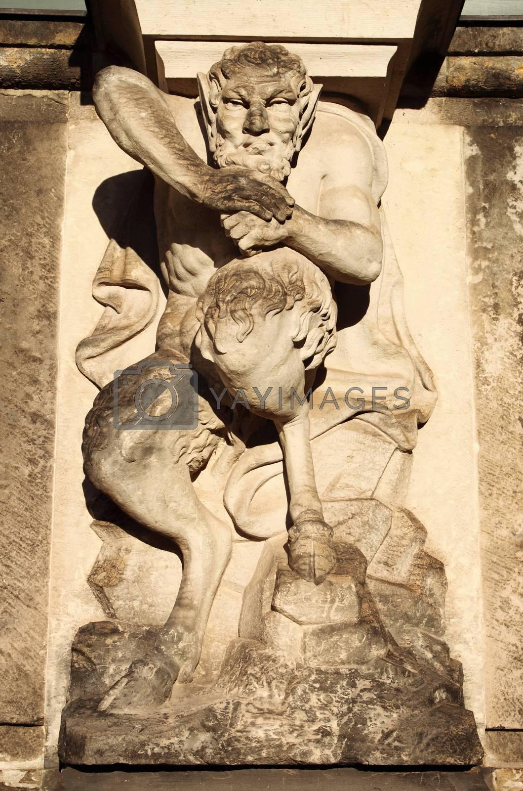 Centaur statue by alessandro0770