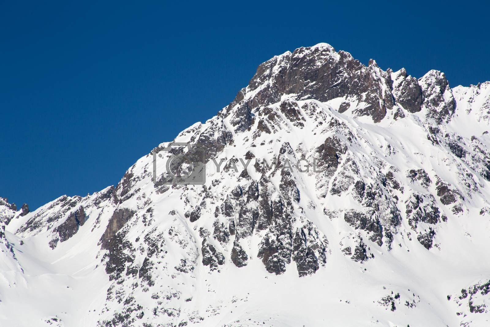 Alps in winter - 14 by Kartouchken