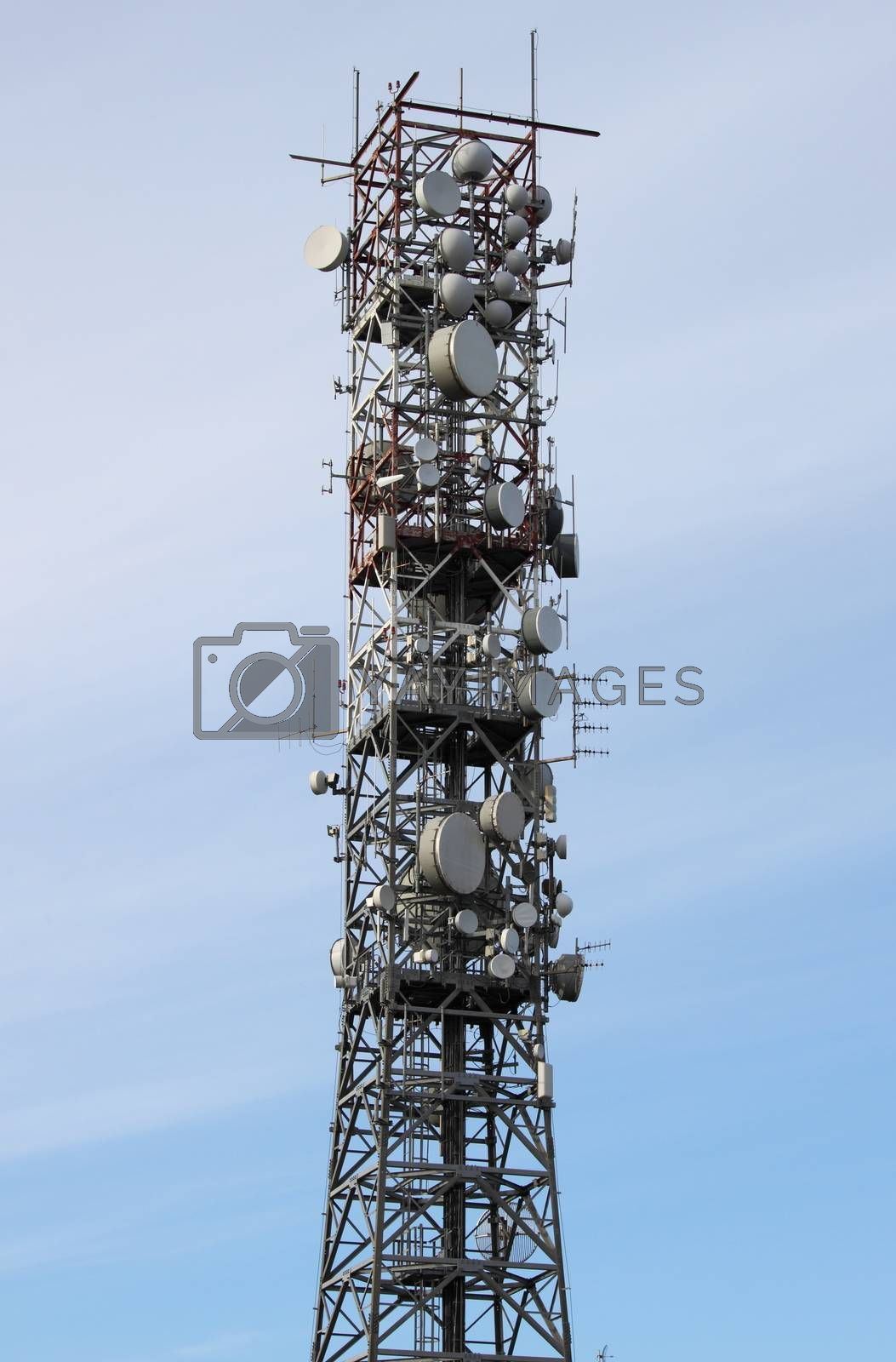 Telecommunication tower by alessandro0770