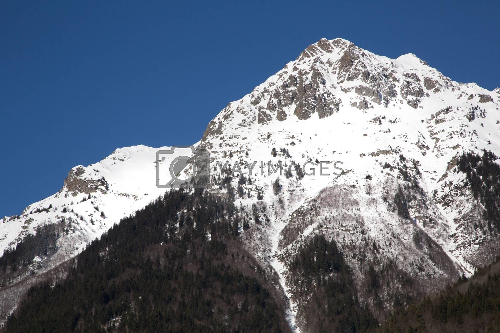 Alps in winter - 17 by Kartouchken