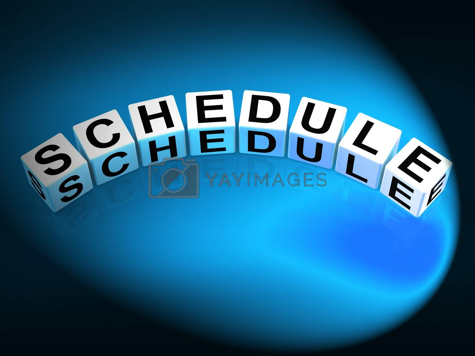 Schedule Dice Mean Program Itinerary and Organize Agenda by stuartmiles