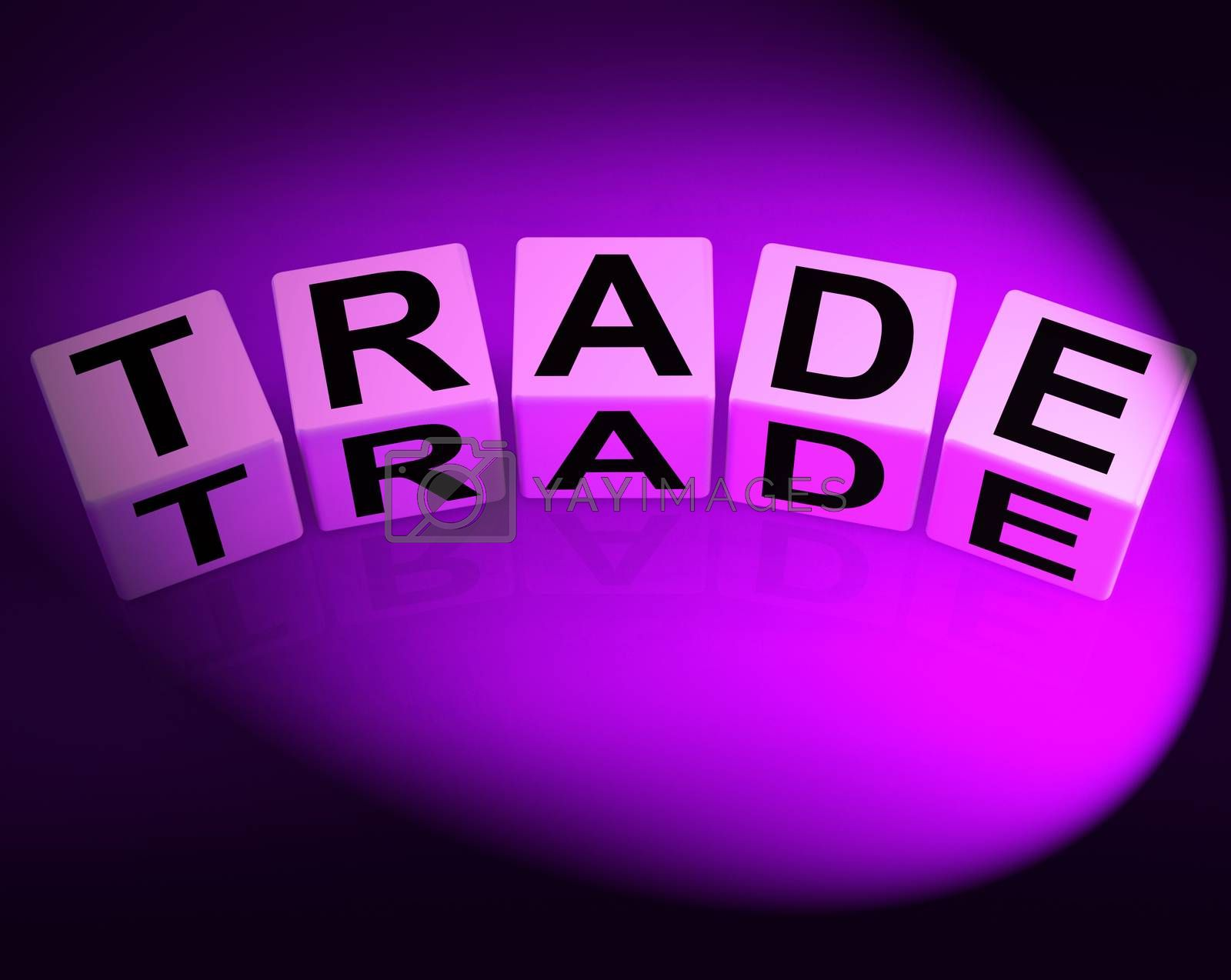 Trade Dice Show Trading Forex Commerce and Industry by stuartmiles