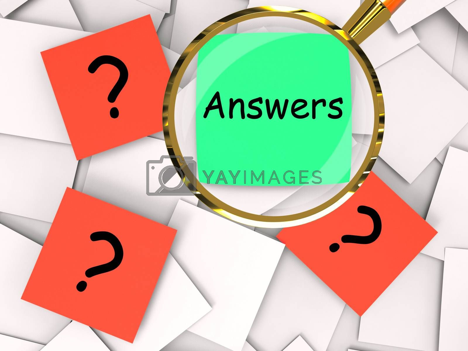 Questions Answers Post-It Papers Mean Inquiries And Solutions by stuartmiles