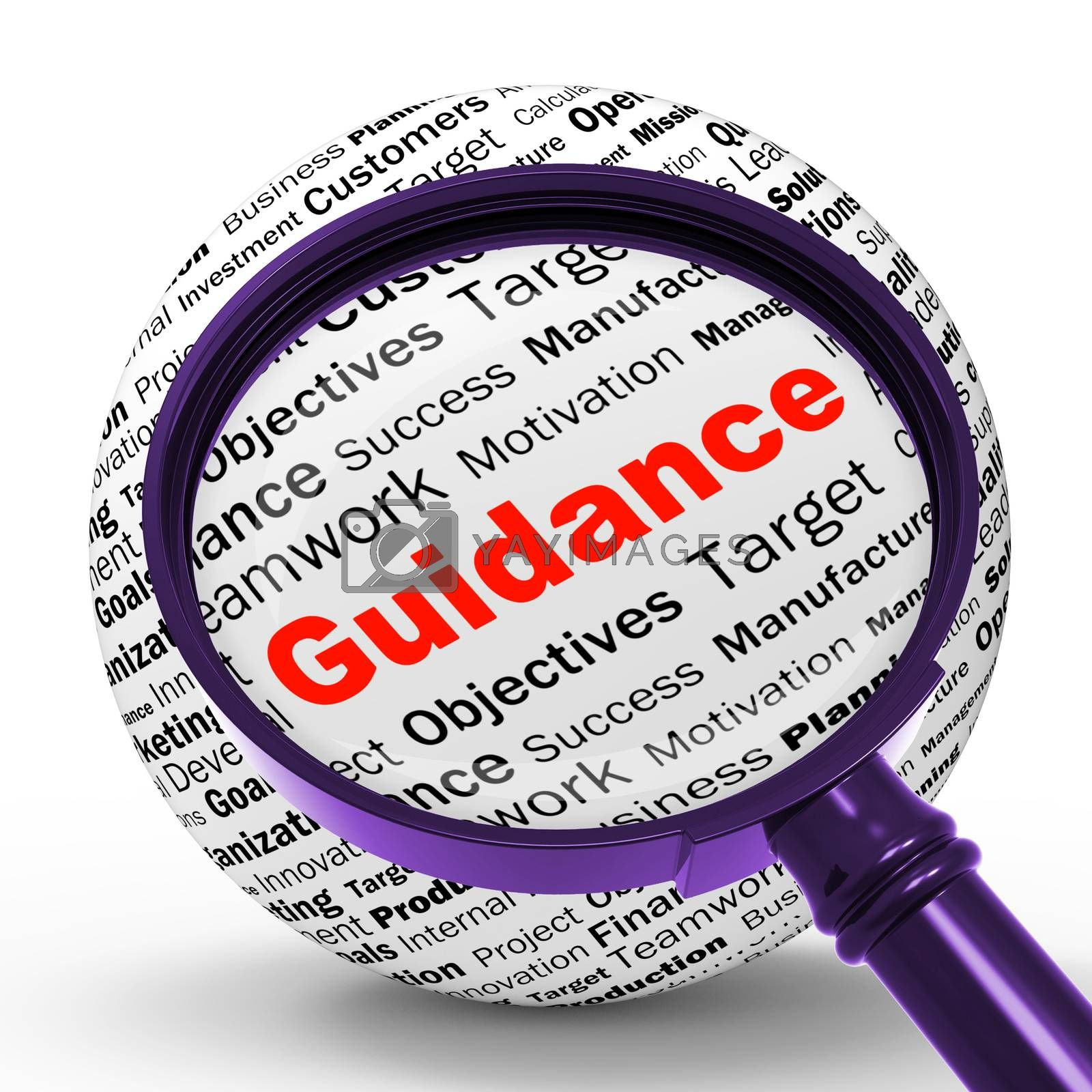 Guidance Magnifier Definition Means Counselling And Help by stuartmiles