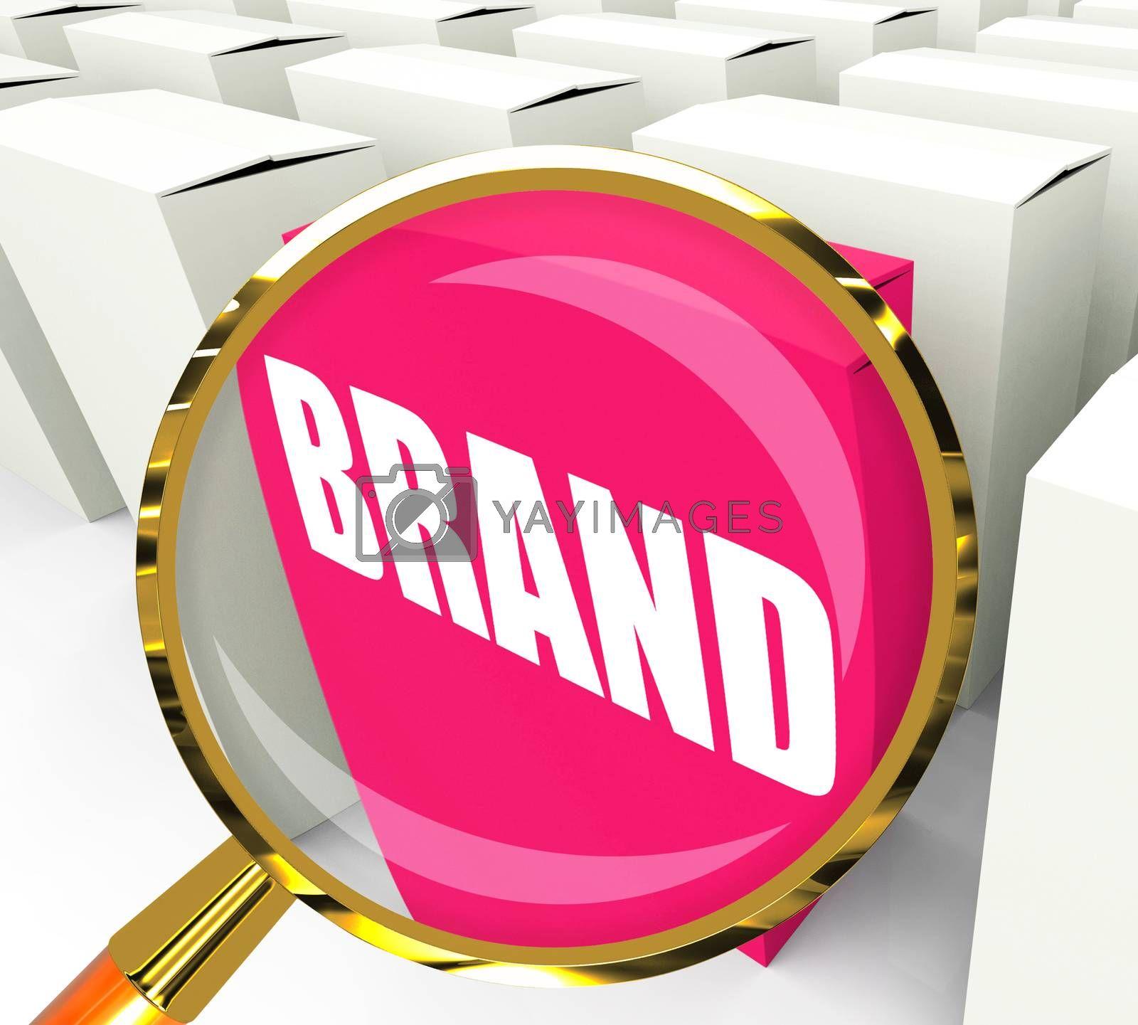 Brand Packet Refers to Branding Marketing and Labels by stuartmiles