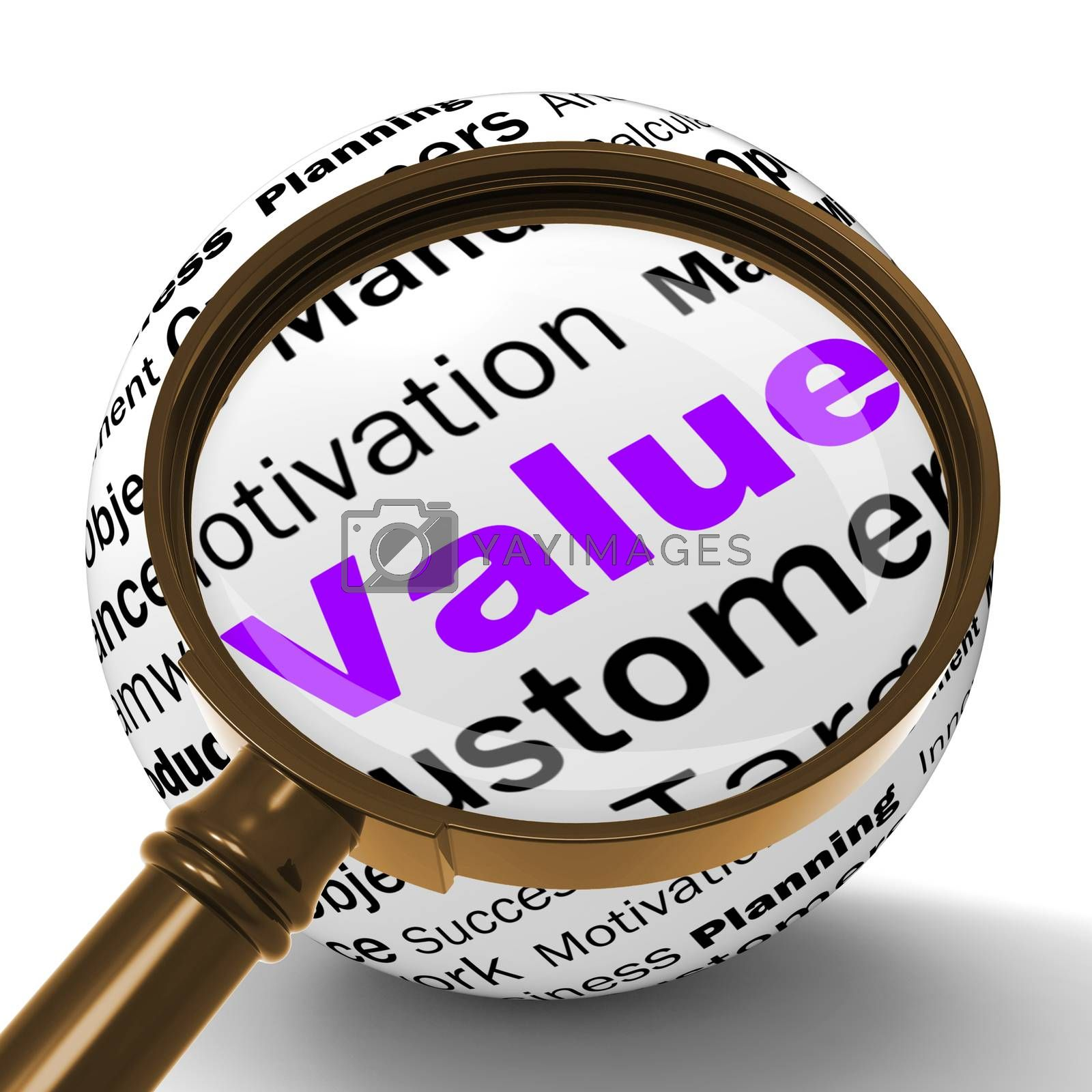 Value Magnifier Definition Means Importance And High Value by stuartmiles