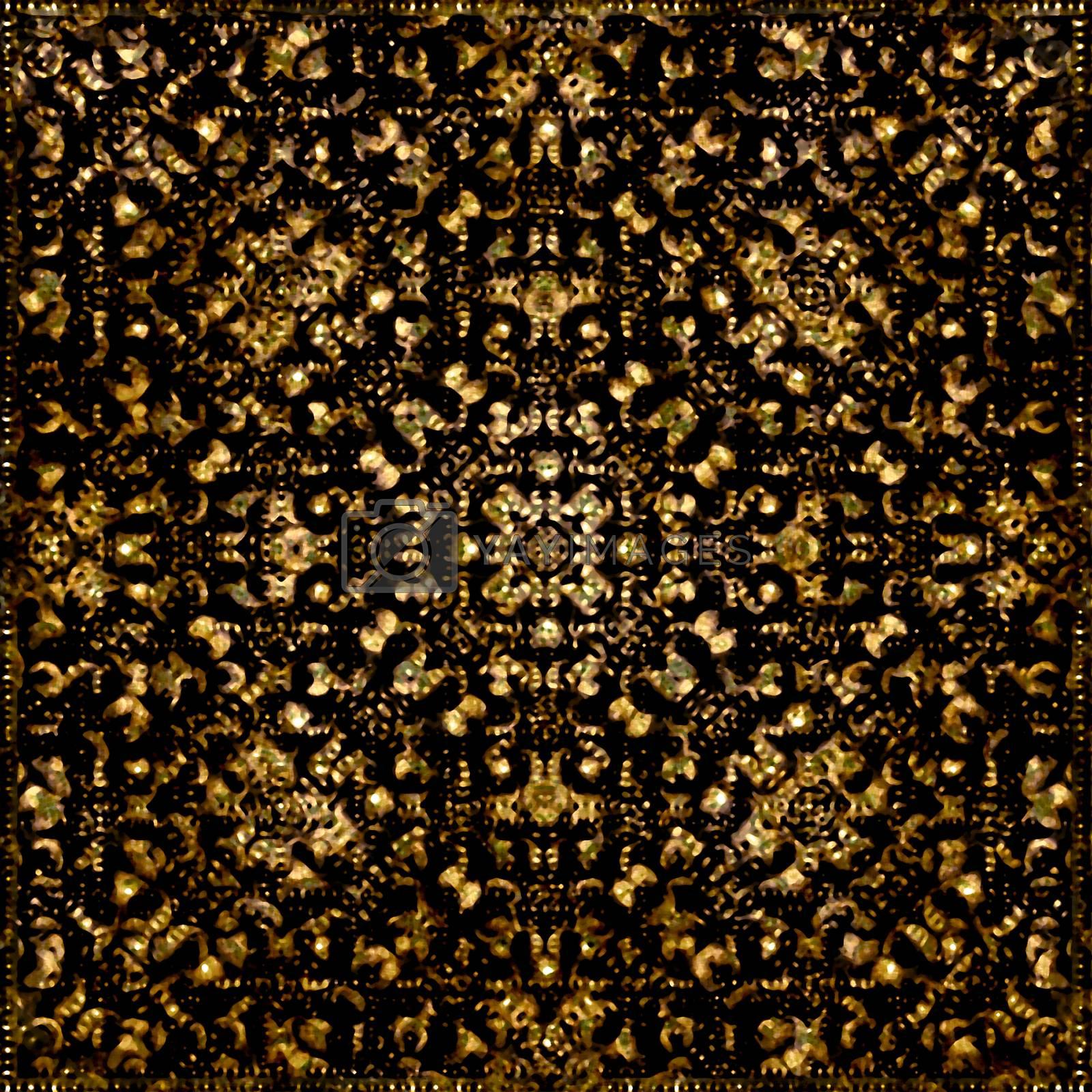 Dark Tribal Pattern by DanFLCreative