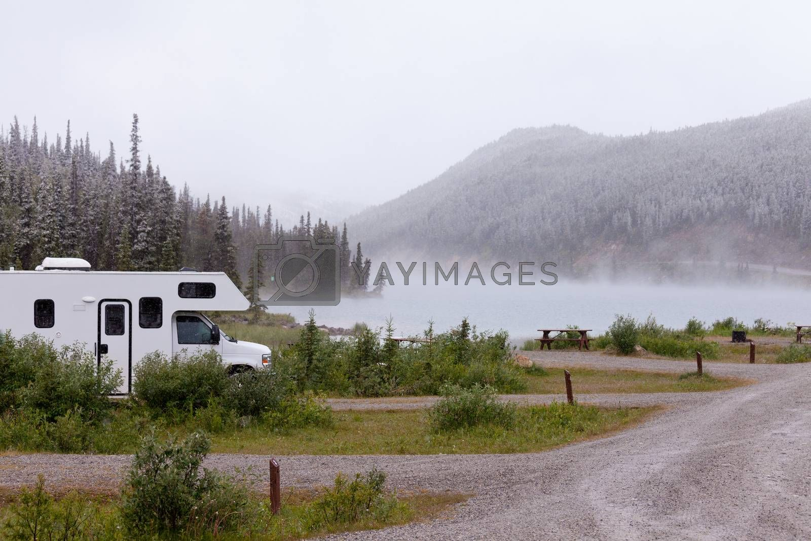 RV Summit Lake Stone Mountain Provincial Park BC by PiLens