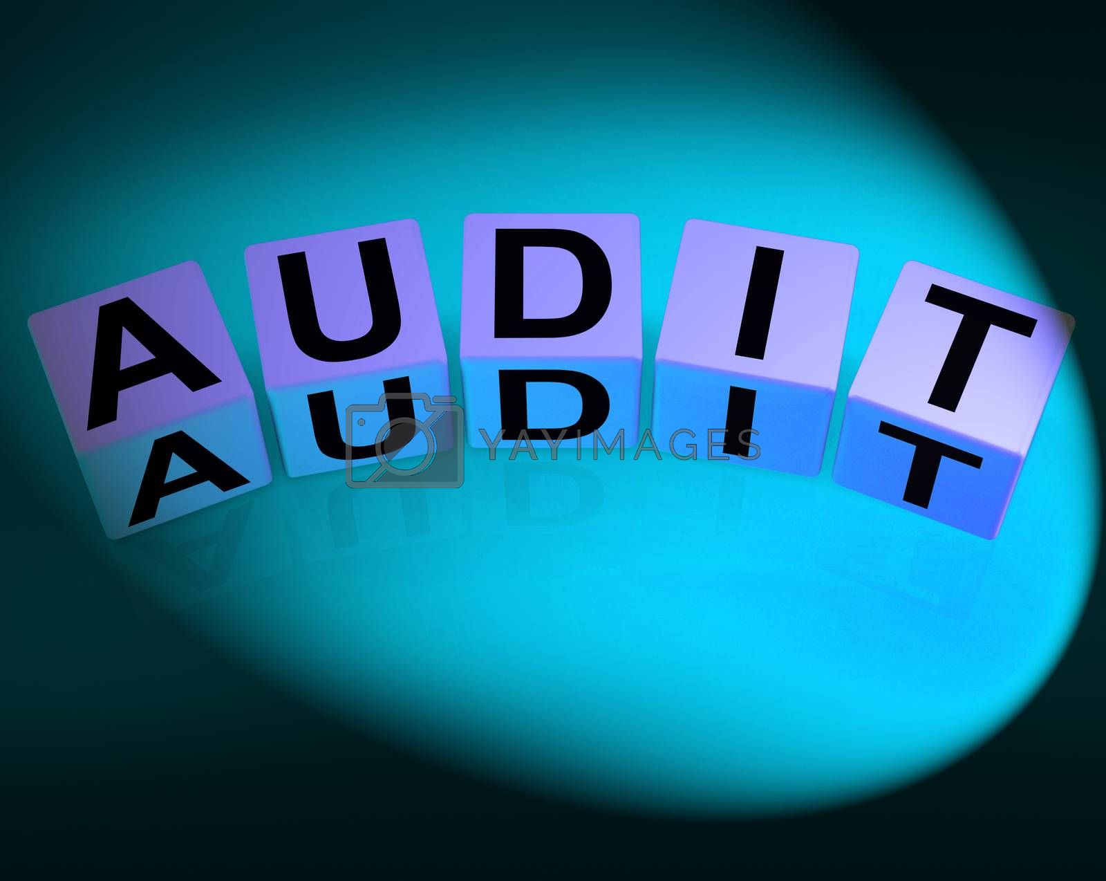 Audit Dice Refer to Investigation Examination and Scrutiny by stuartmiles