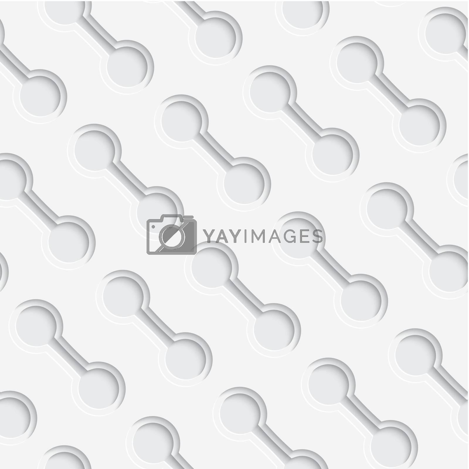 White layered diagonal seamless by Zebra-Finch