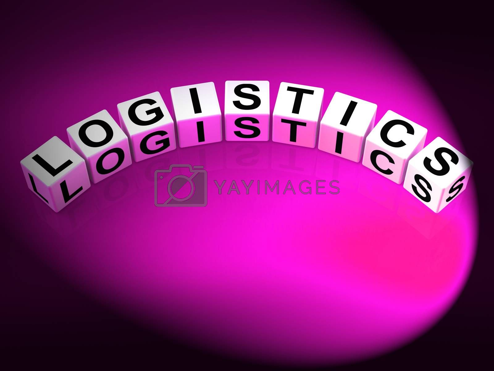 Logistics Dice Show Logistical Strategies and Plans by stuartmiles