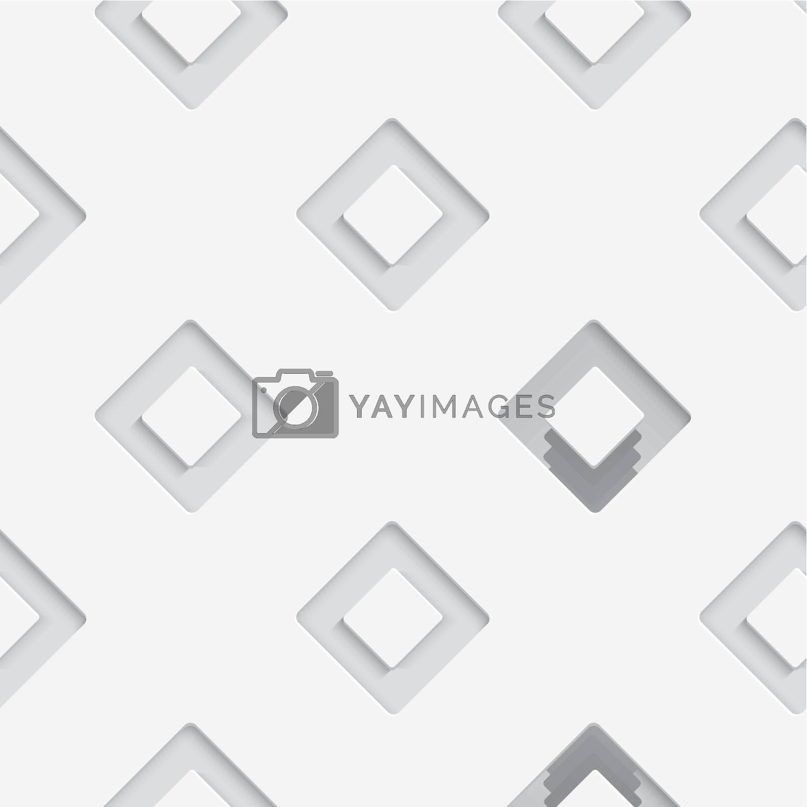 Seamless white diagonal square by Zebra-Finch