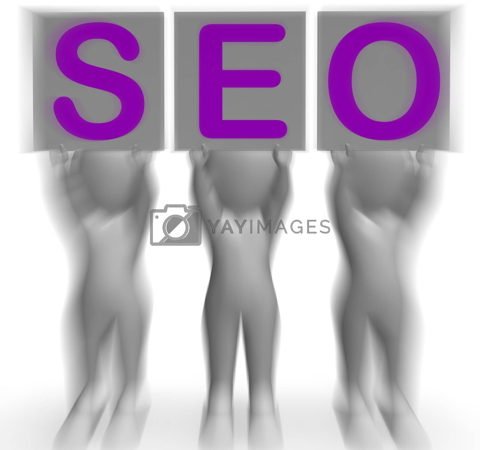 SEO Placards Mean Optimized Web Search And Development by stuartmiles
