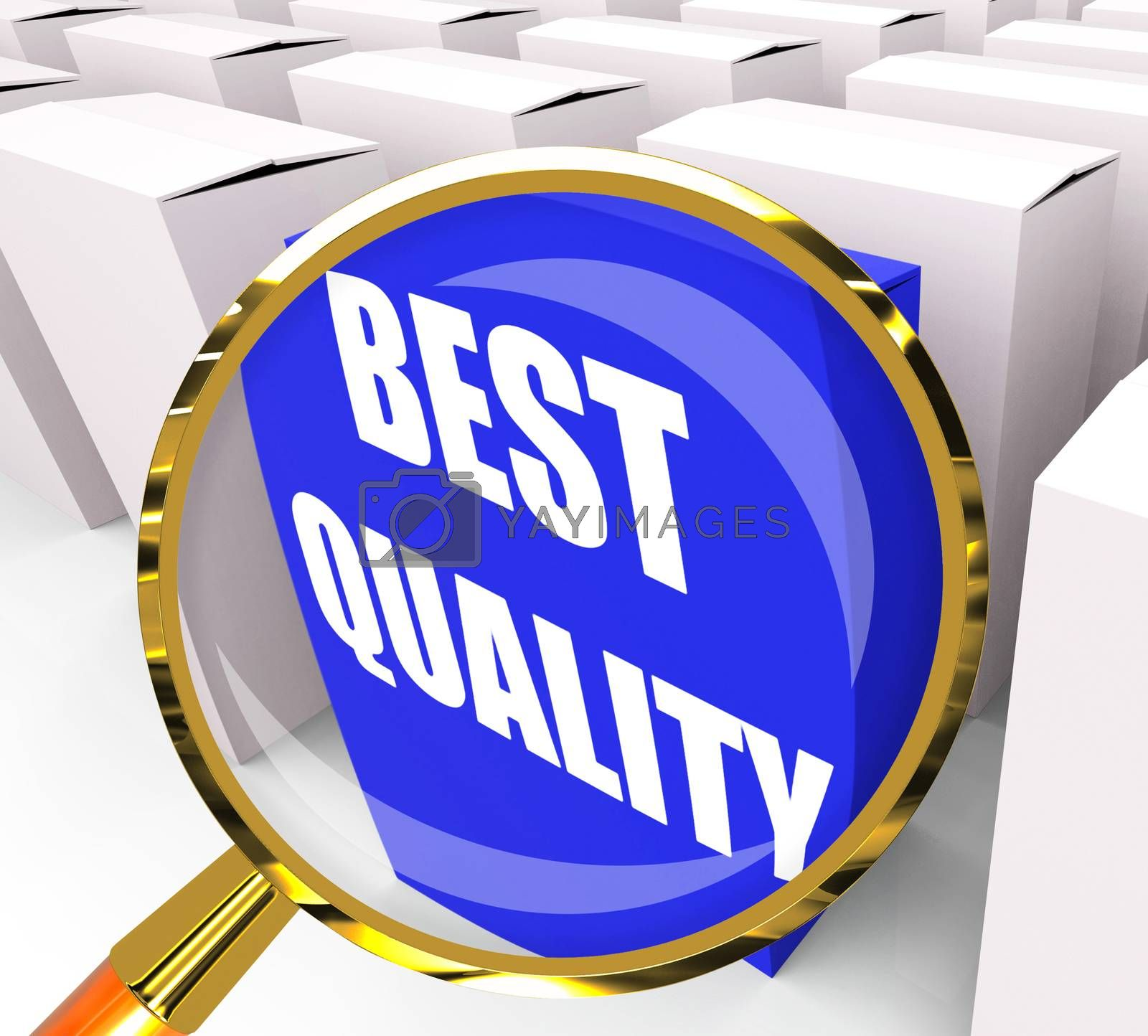 Best Quality Packet Represents Premium Excellence and Superiorit by stuartmiles