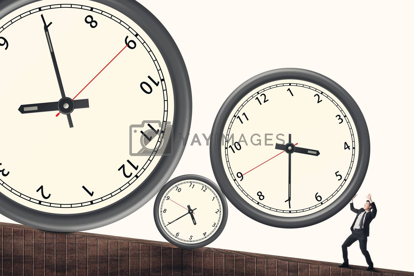 Time pressure concept by elwynn