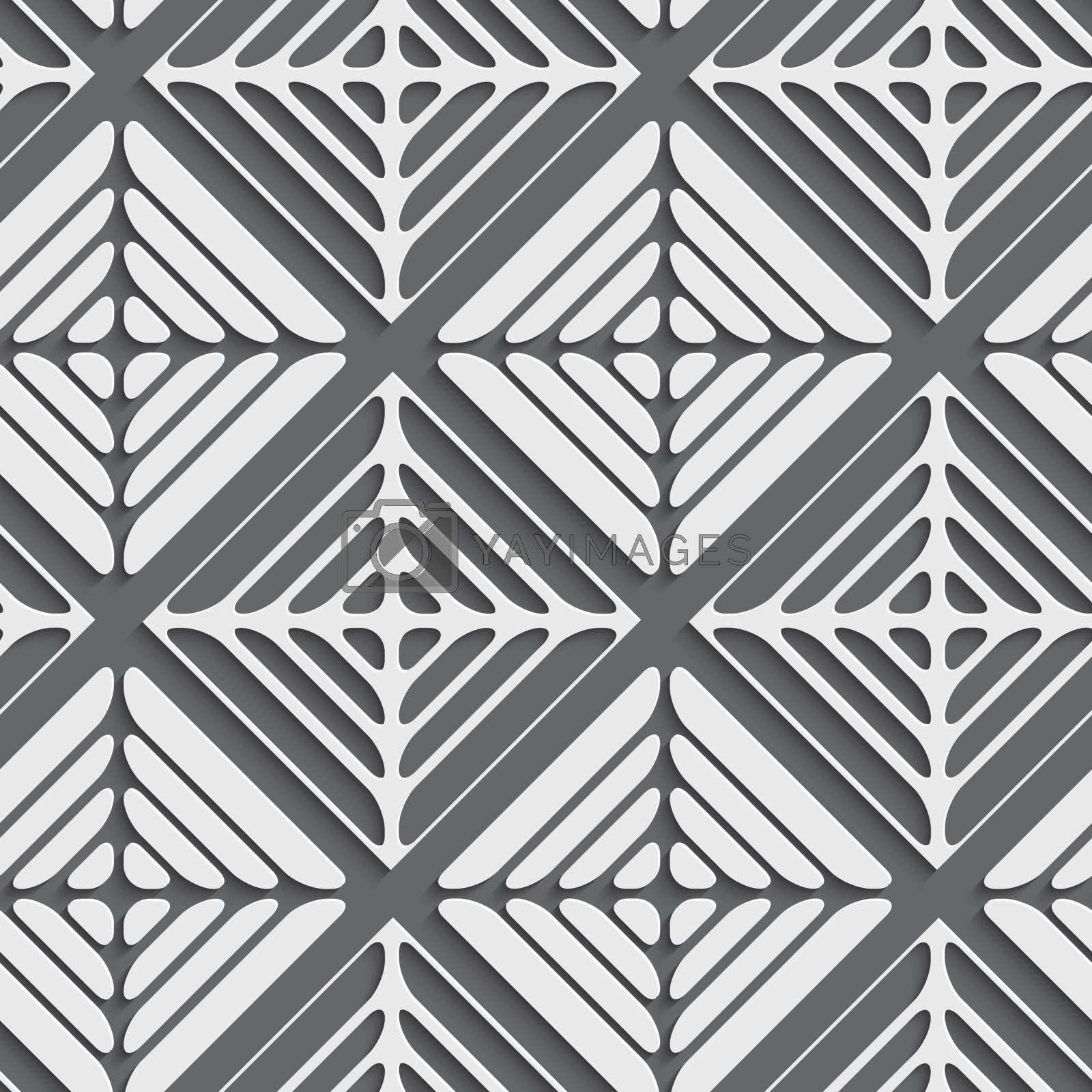 Gray seamless ornament by Zebra-Finch