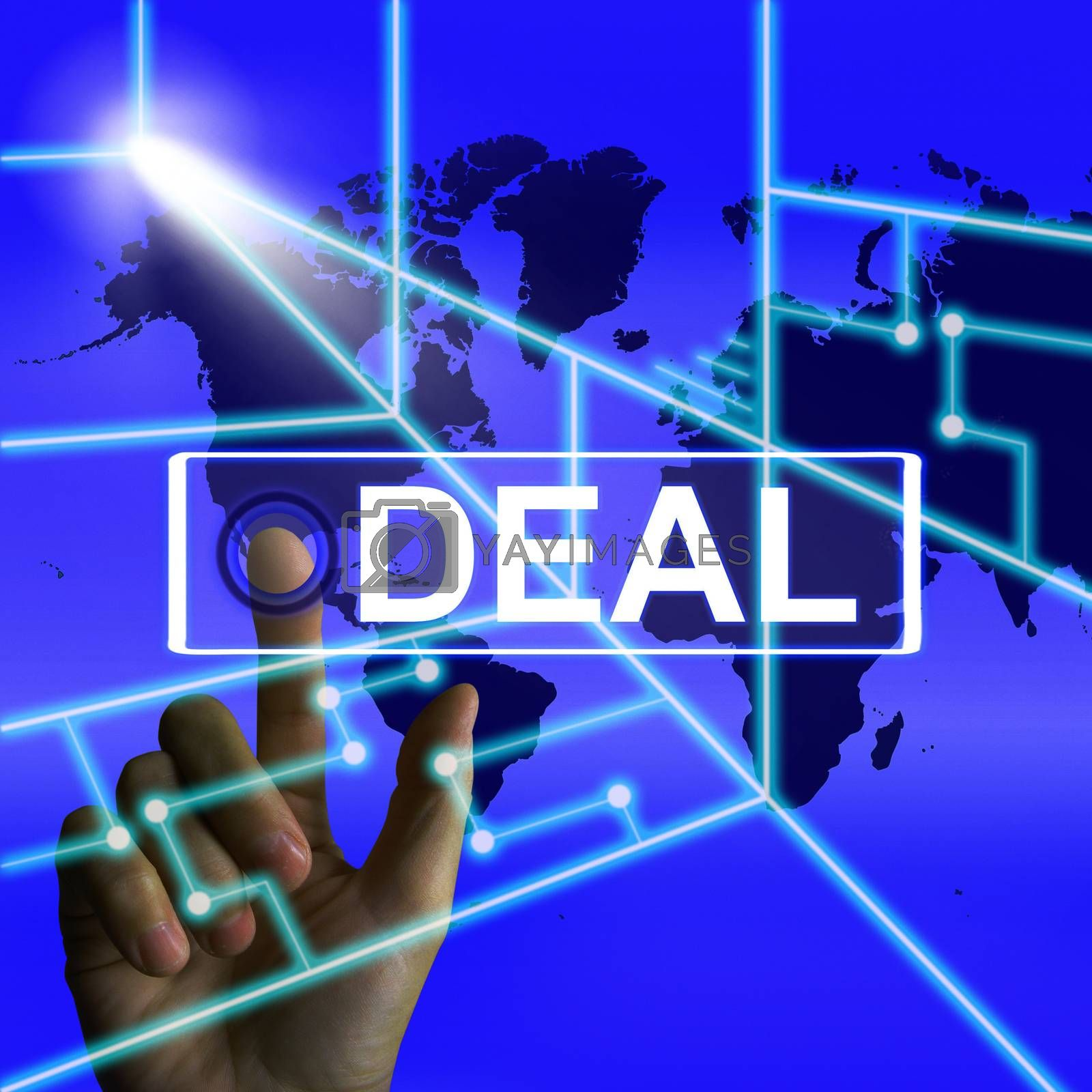 Deal Screen Refers to Worldwide or International Agreement by stuartmiles