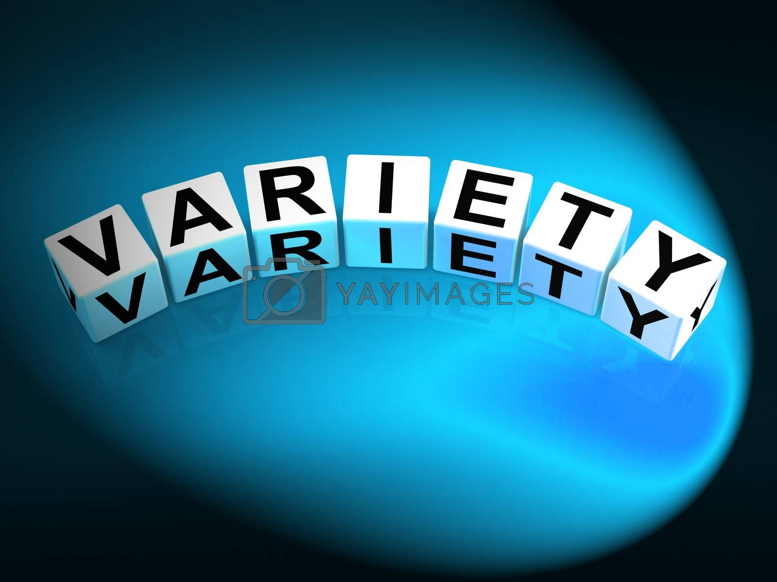Variety Dice Mean Varieties Assortments and Diversity by stuartmiles