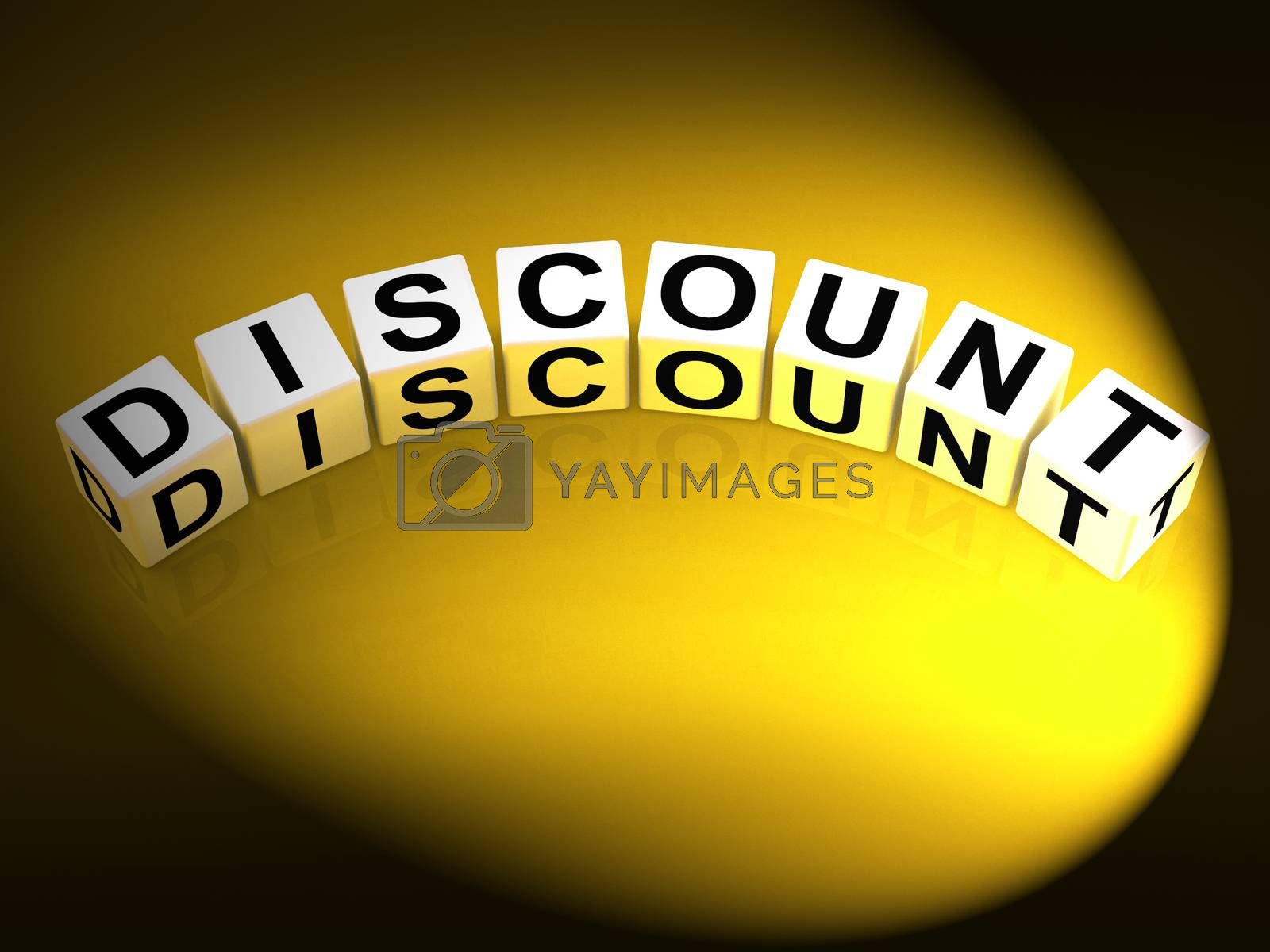 Discount Dice Show Discounts Reductions and Percent Off by stuartmiles