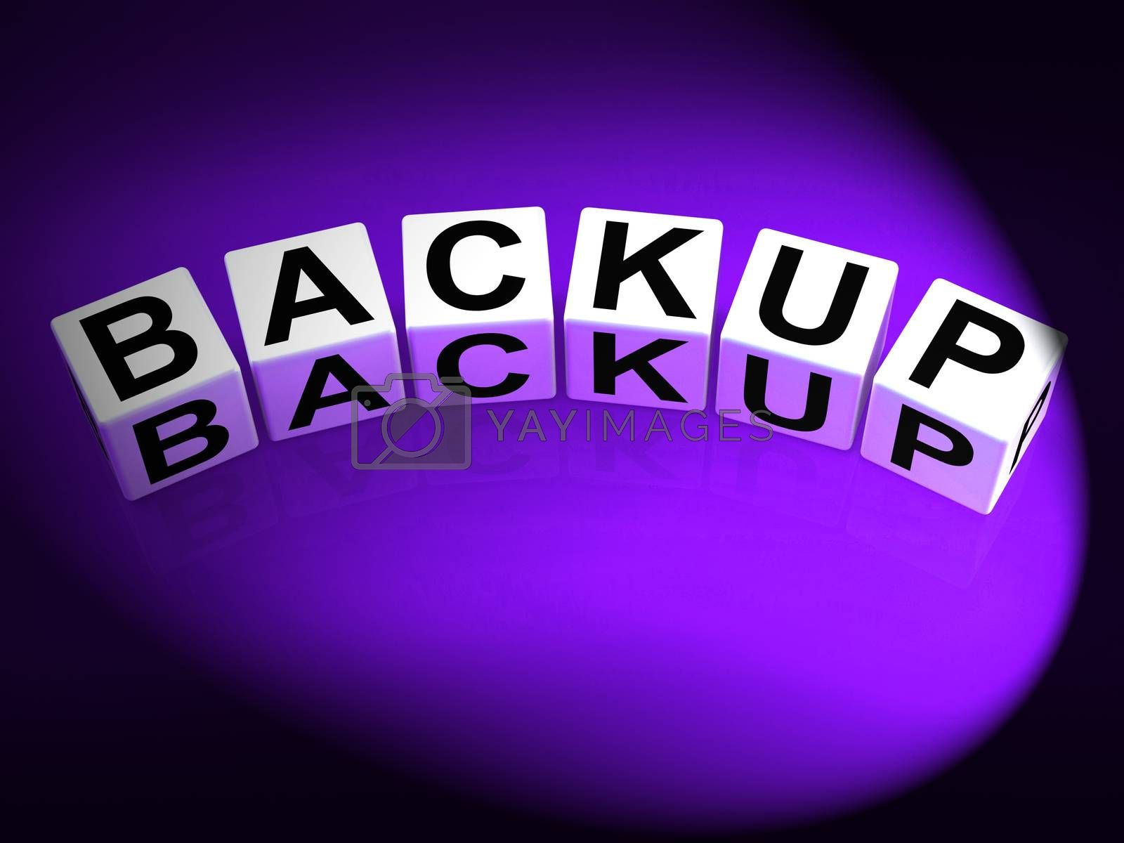 Backup Dice Mean Store Restore or Transfer Documents or Files by stuartmiles