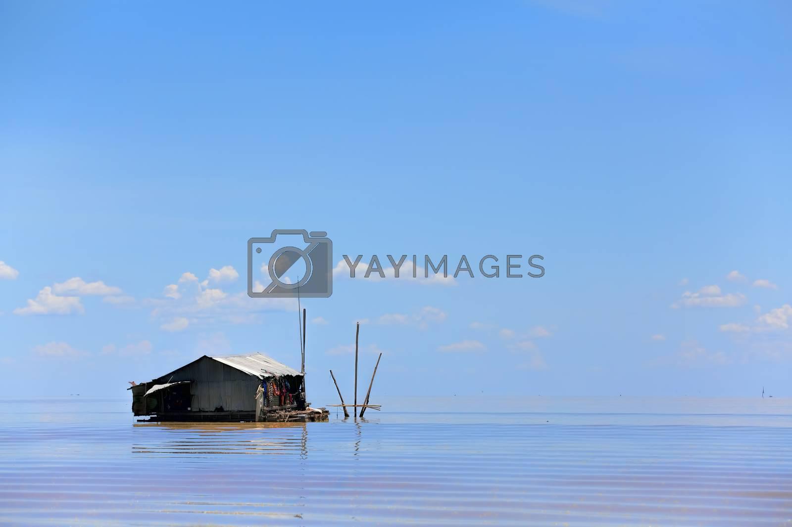 Floating village by kjorgen