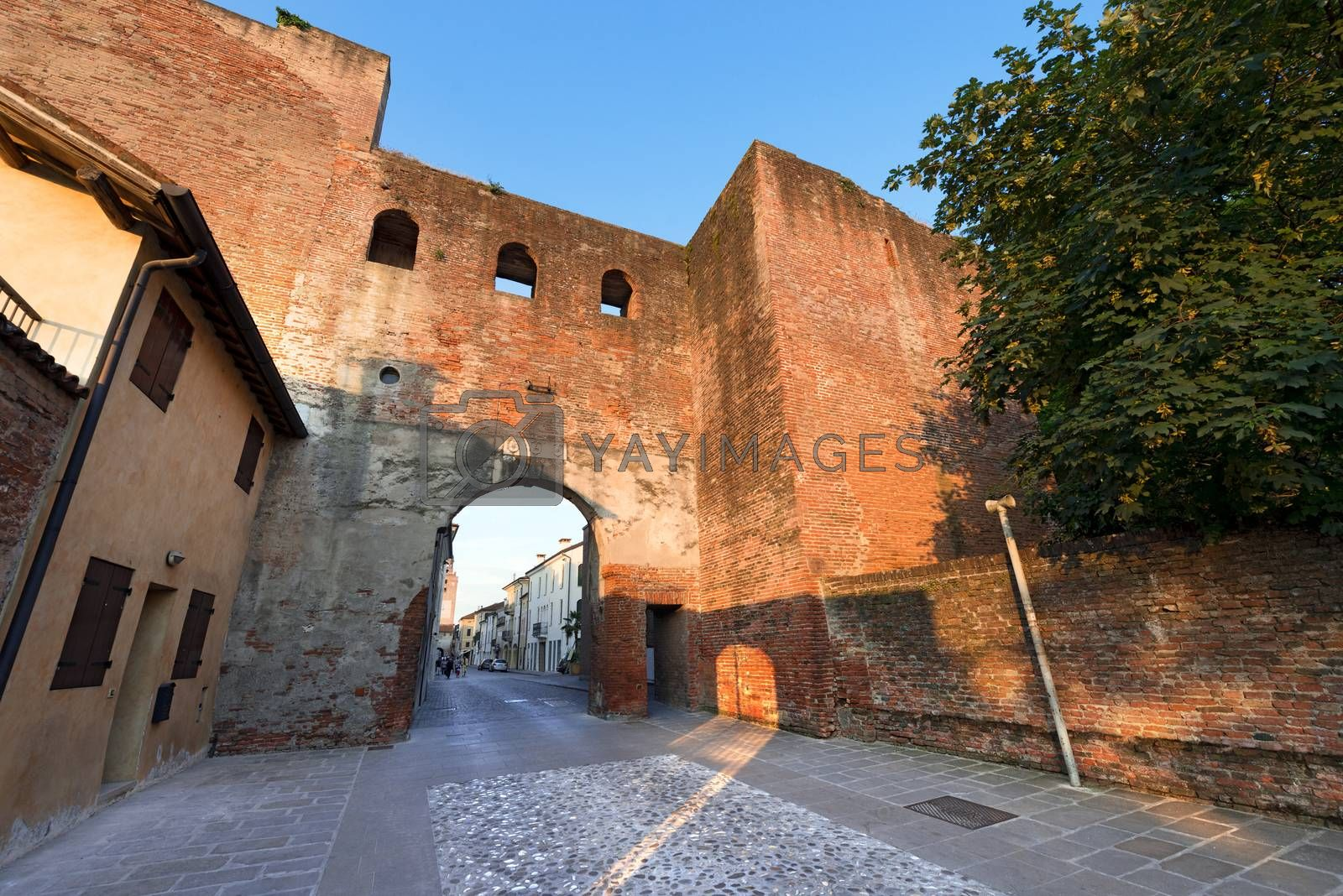 Porta del Musile - Castelfranco Veneto - Italy by catalby