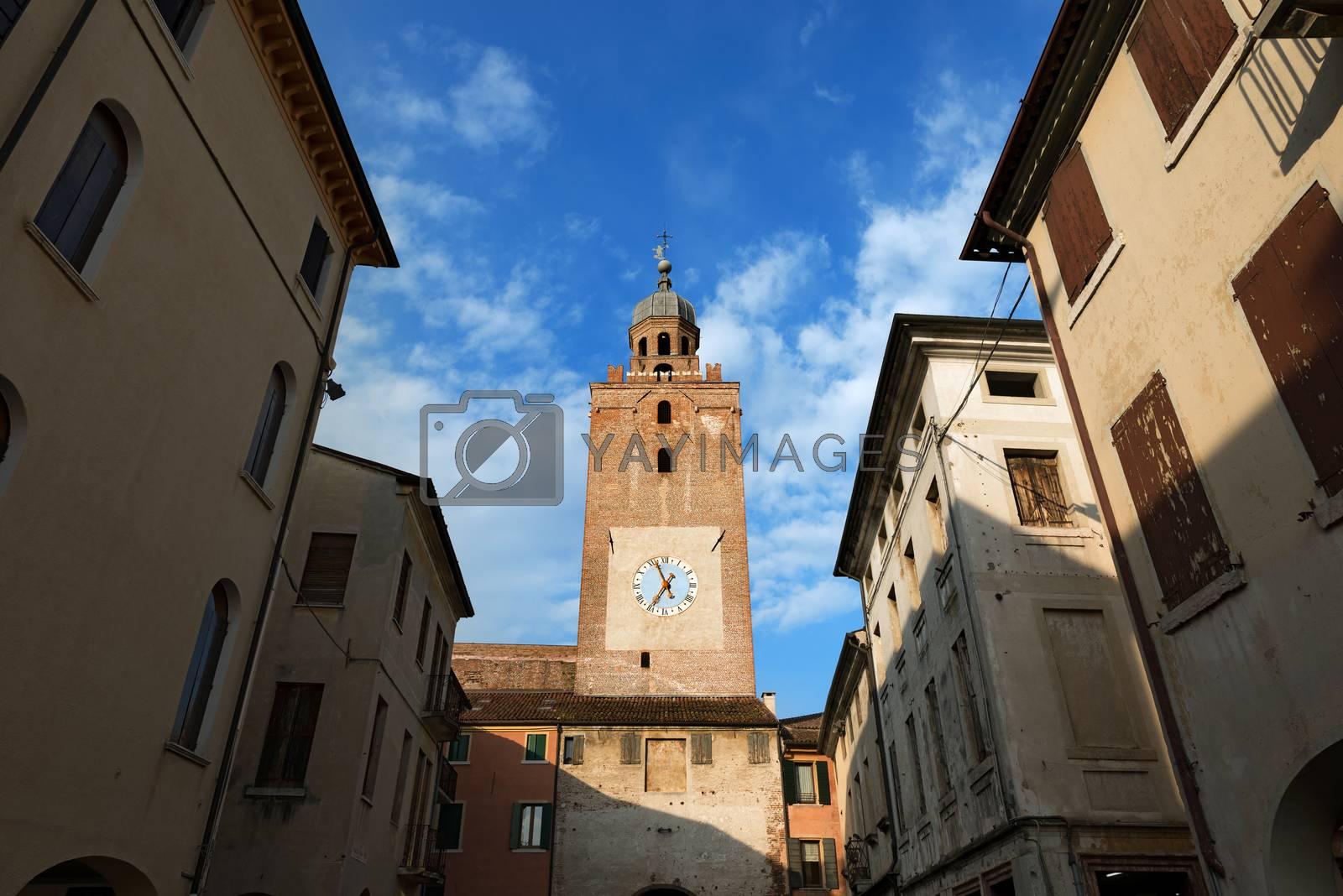 Torre Civica - Castelfranco Veneto - Italy by catalby
