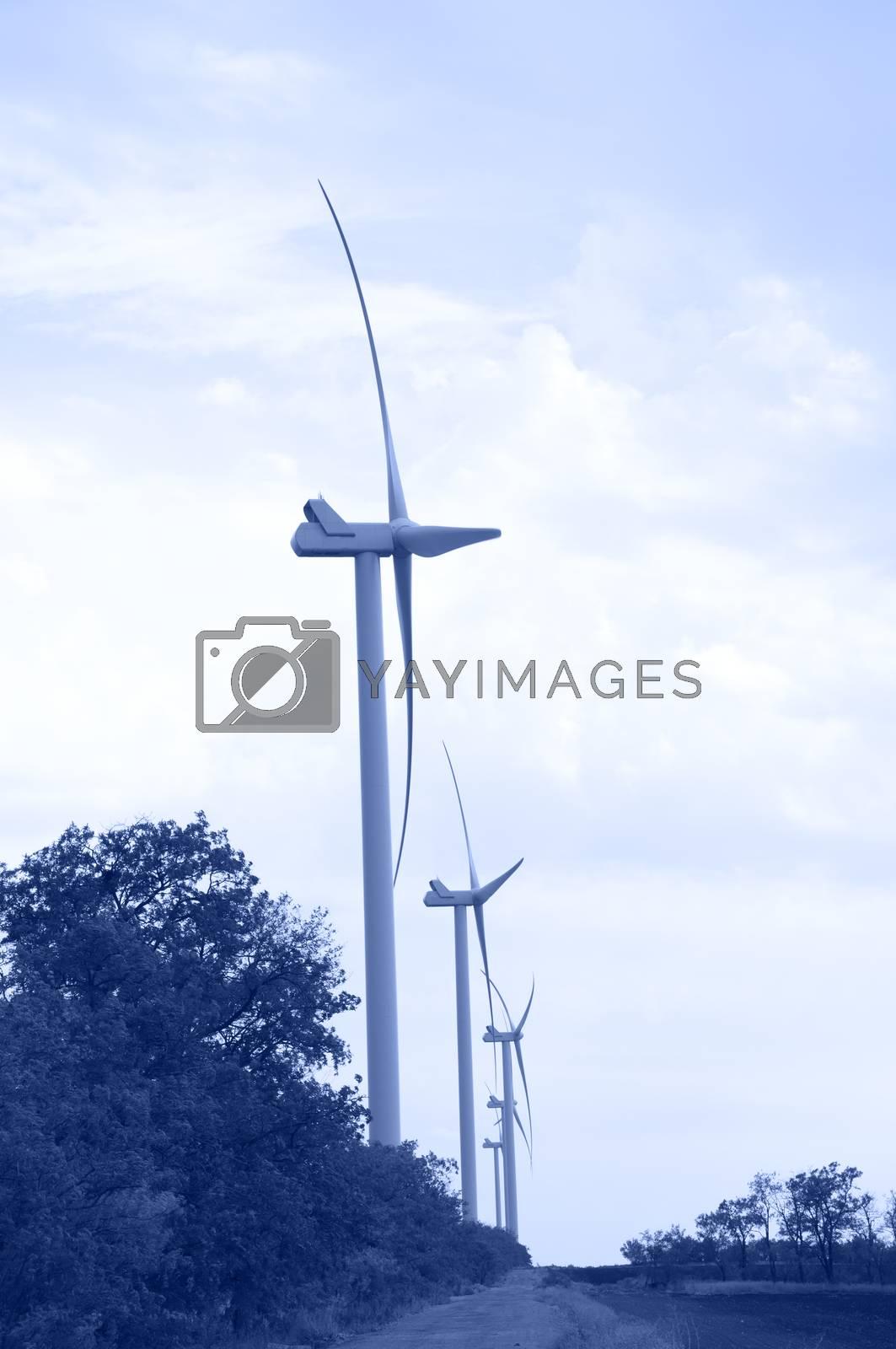 Wind energie. Toned. by bashta