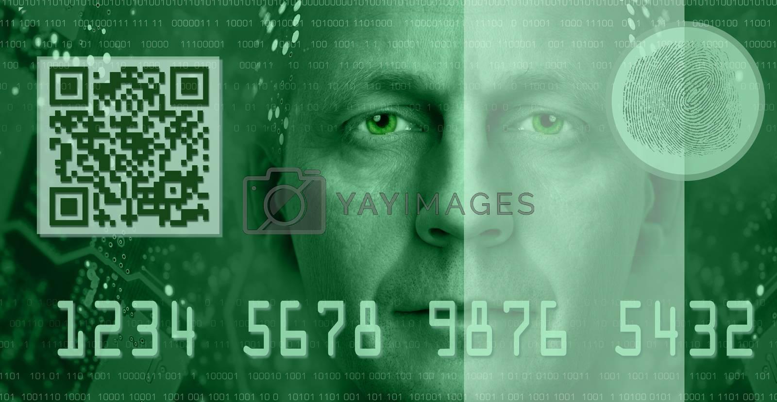 E-commerce concept. Toned green. by bashta
