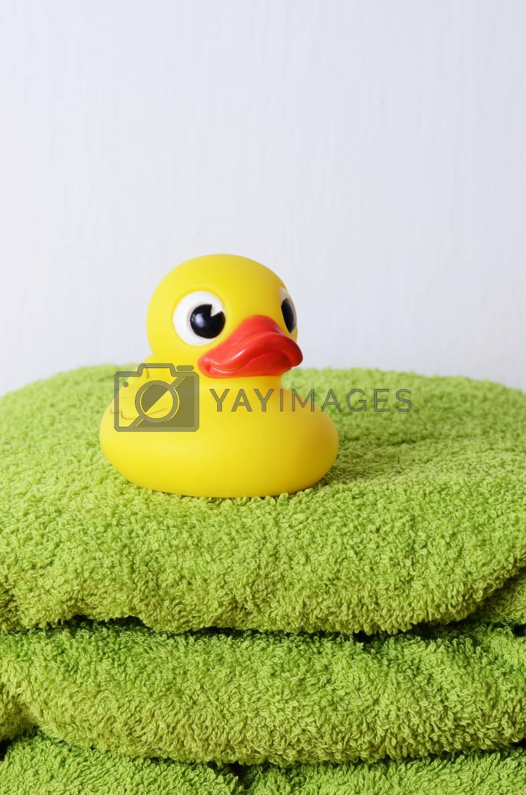 bath duck by sarkao